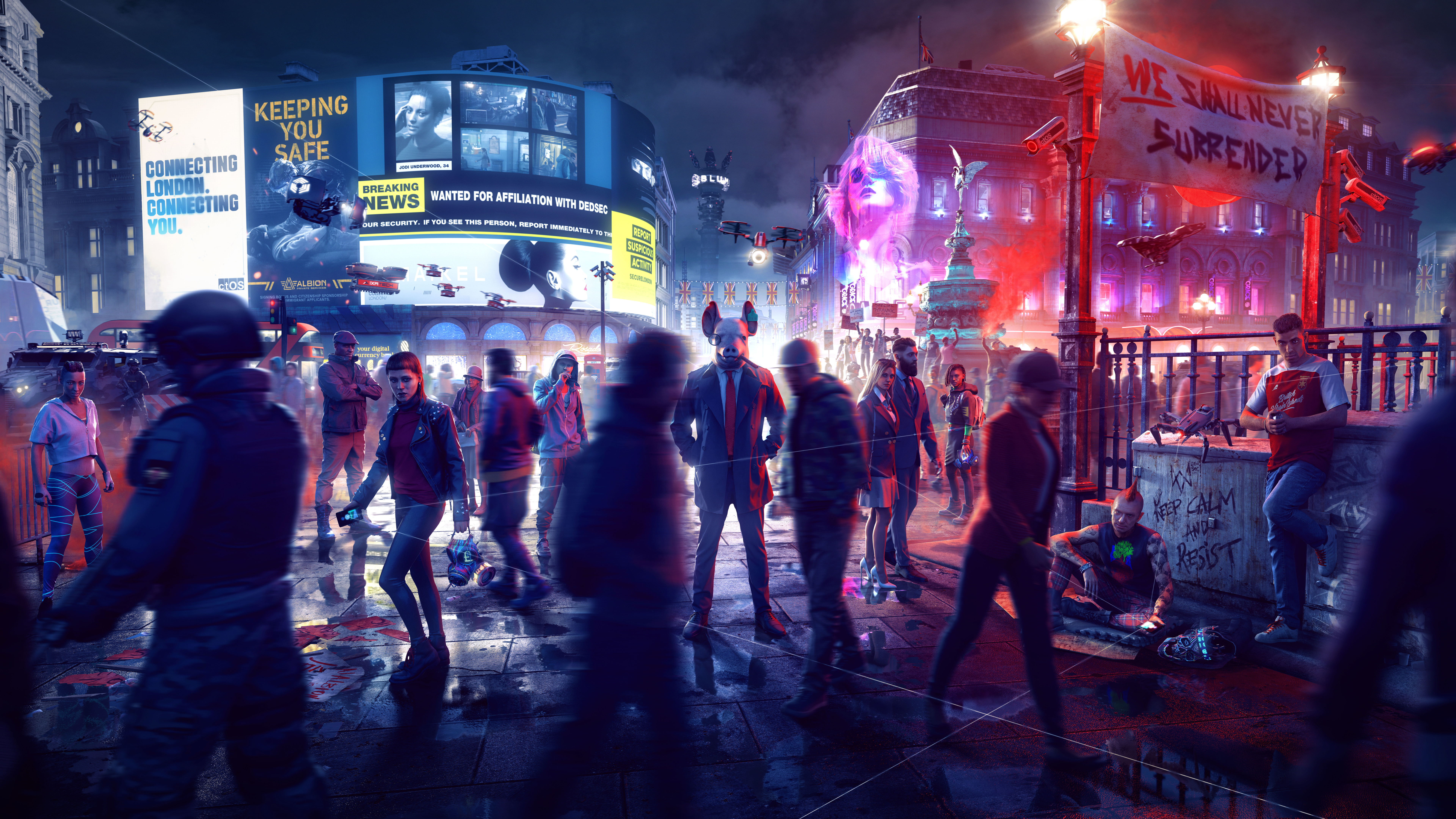 Watch Dogs Legion Wallpapers Top Free Watch Dogs Legion Backgrounds Wallpaperaccess