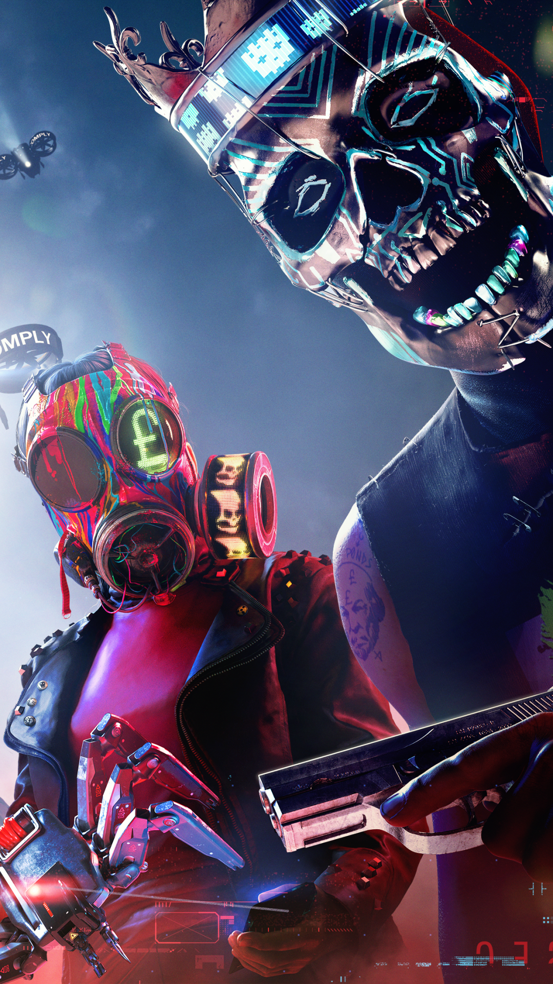 Watch Dogs Legion Wallpapers Top Free Watch Dogs Legion