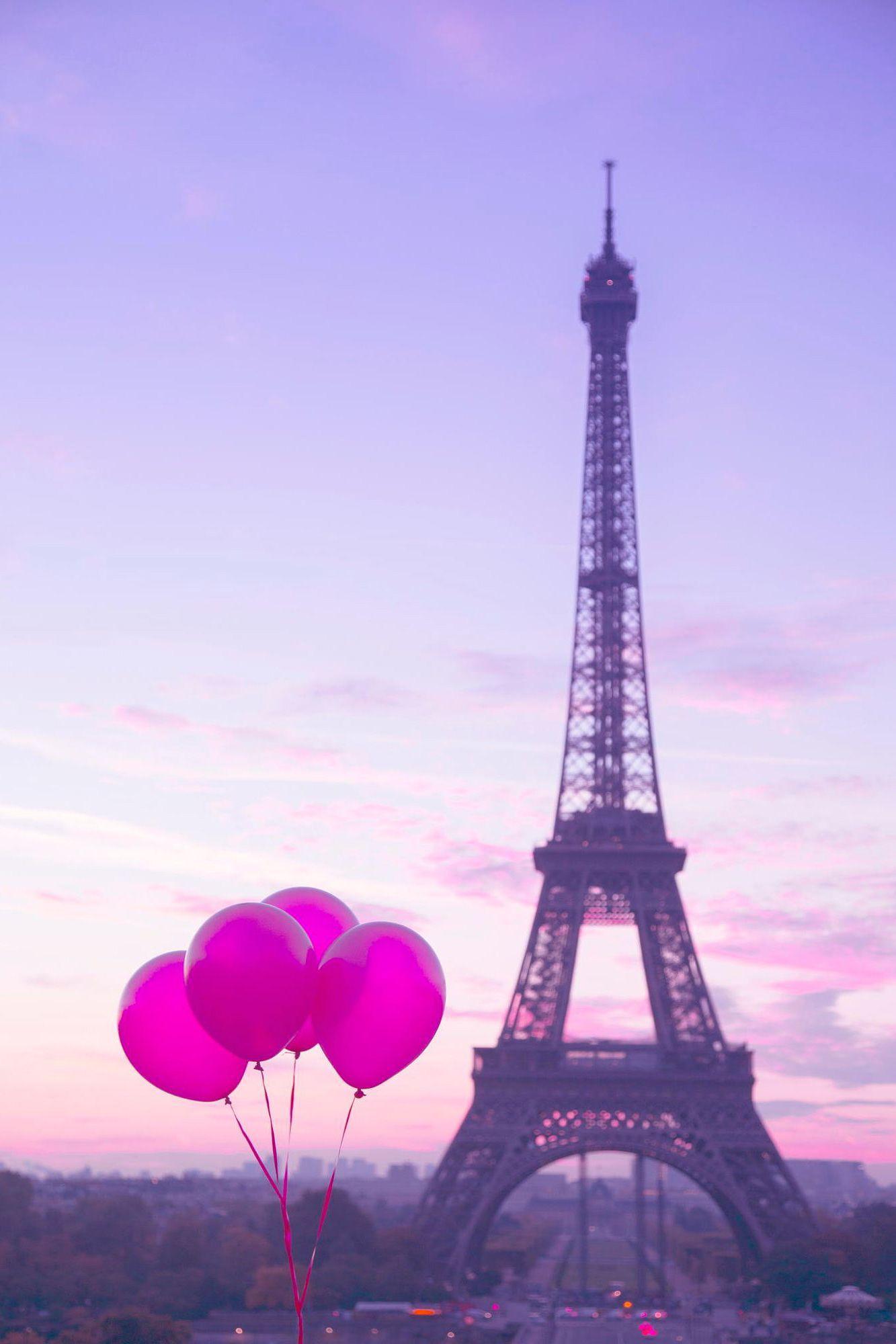 Purple Paris Wallpapers Top Free Purple Paris Backgrounds Wallpaperaccess