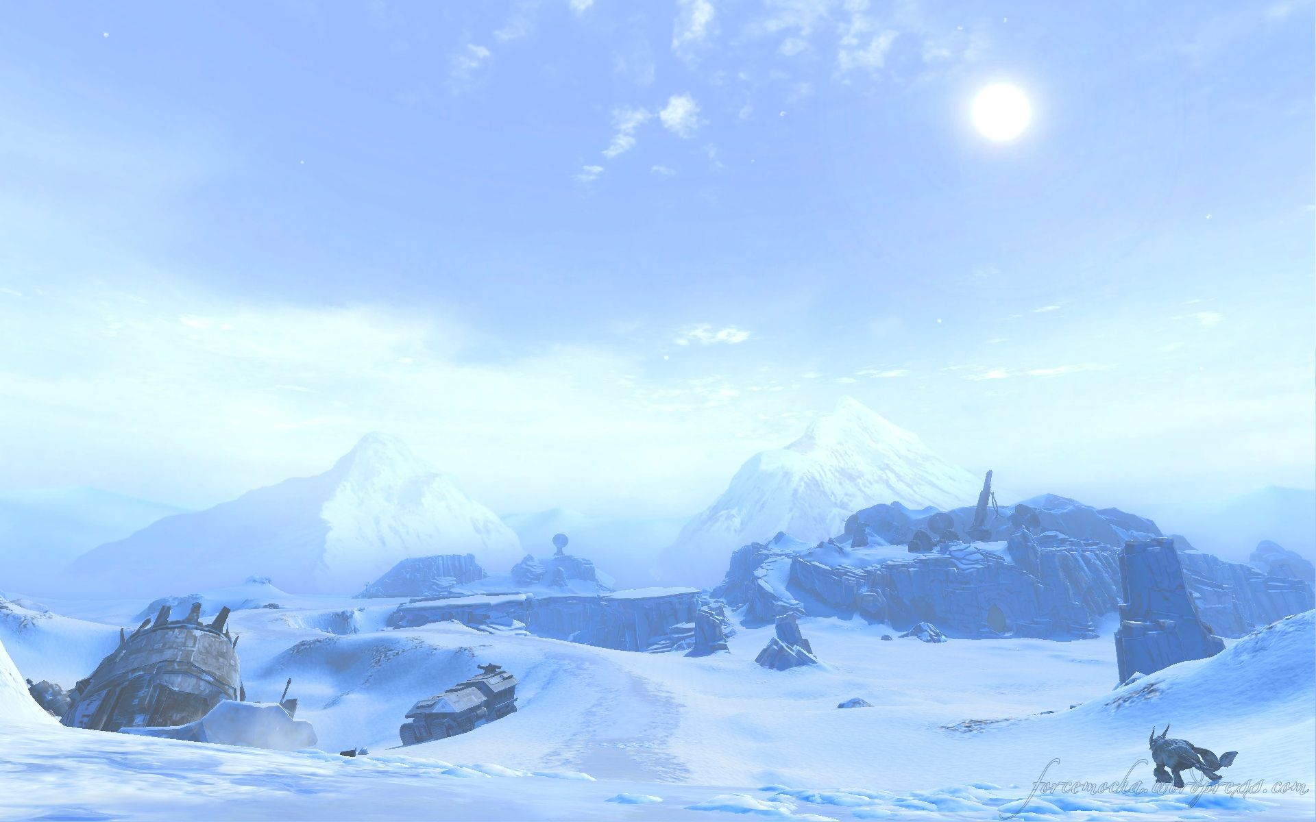 Hoth Wallpapers Top Free Hoth Backgrounds Wallpaperaccess
