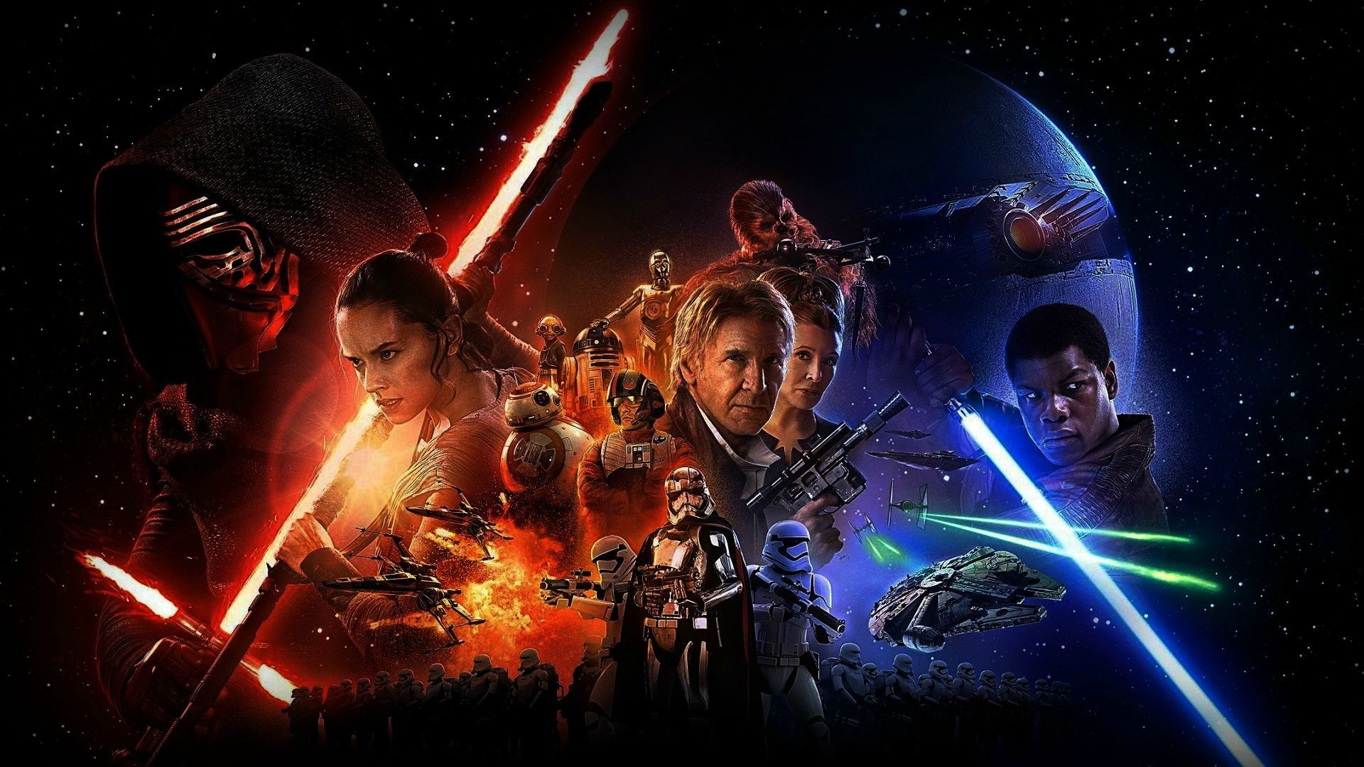 The Force Awakens Wallpapers Top Free The Force Awakens Backgrounds Wallpaperaccess