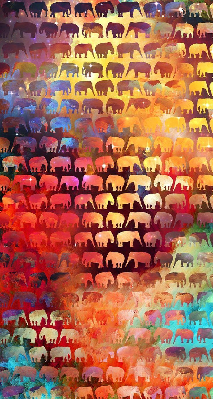 boho elephant wallpapers