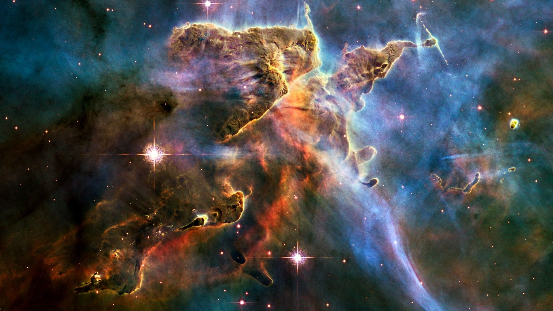 Pillars Of Creation Hubble Wallpapers Top Free Pillars Of Creation Hubble Backgrounds Wallpaperaccess