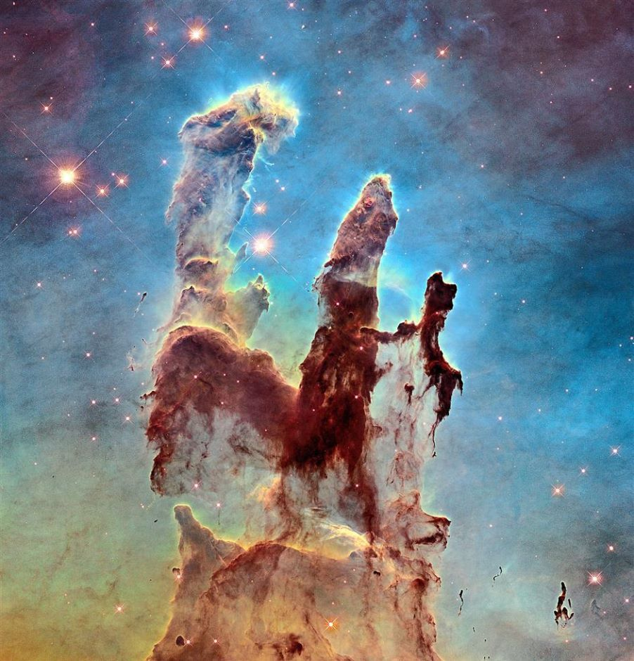 Pillars of Creation Clip Art
