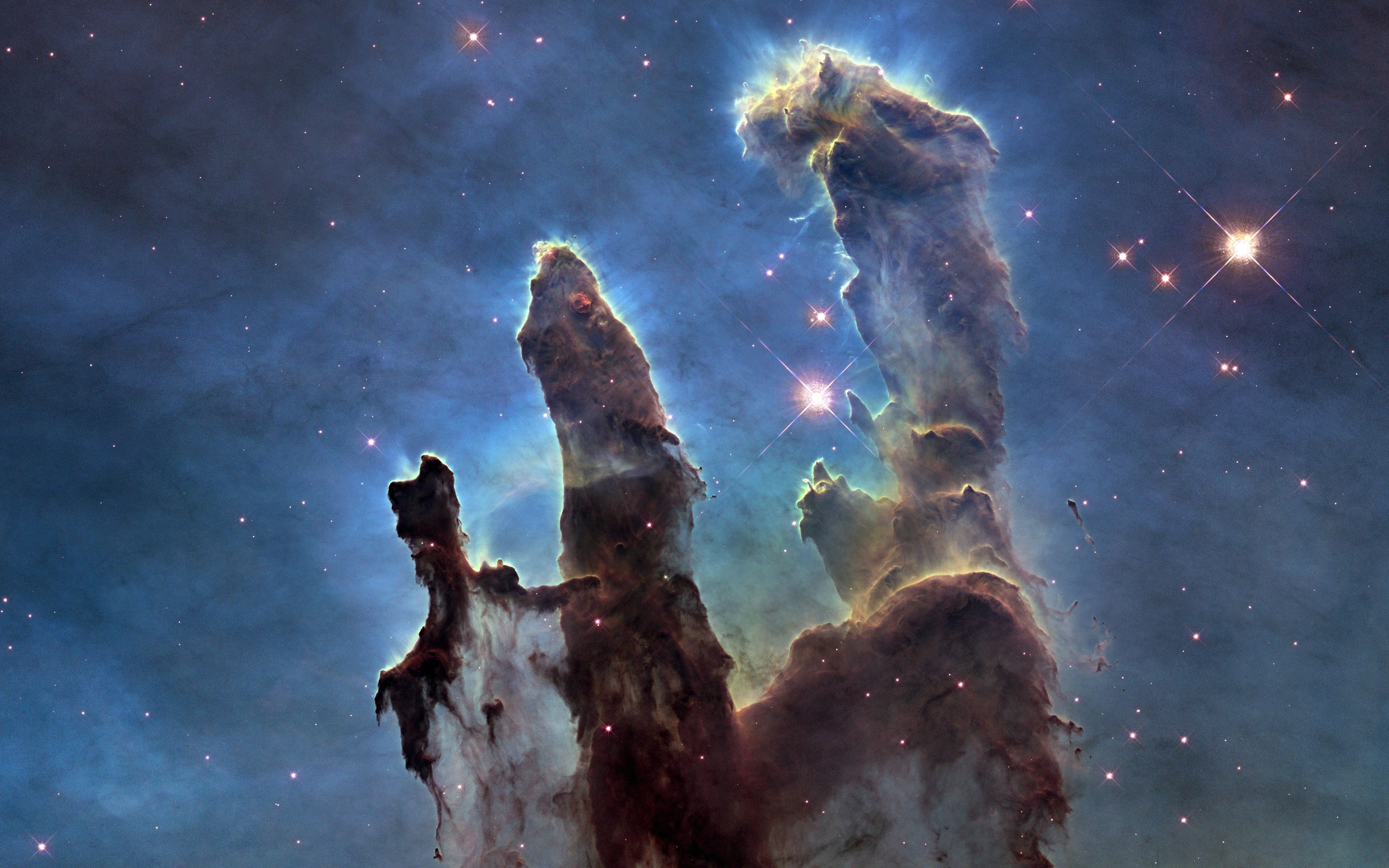 Pillars Of Creation Wallpaper Hd: 64 Best Free Pillars Of Creation Hubble Wallpapers
