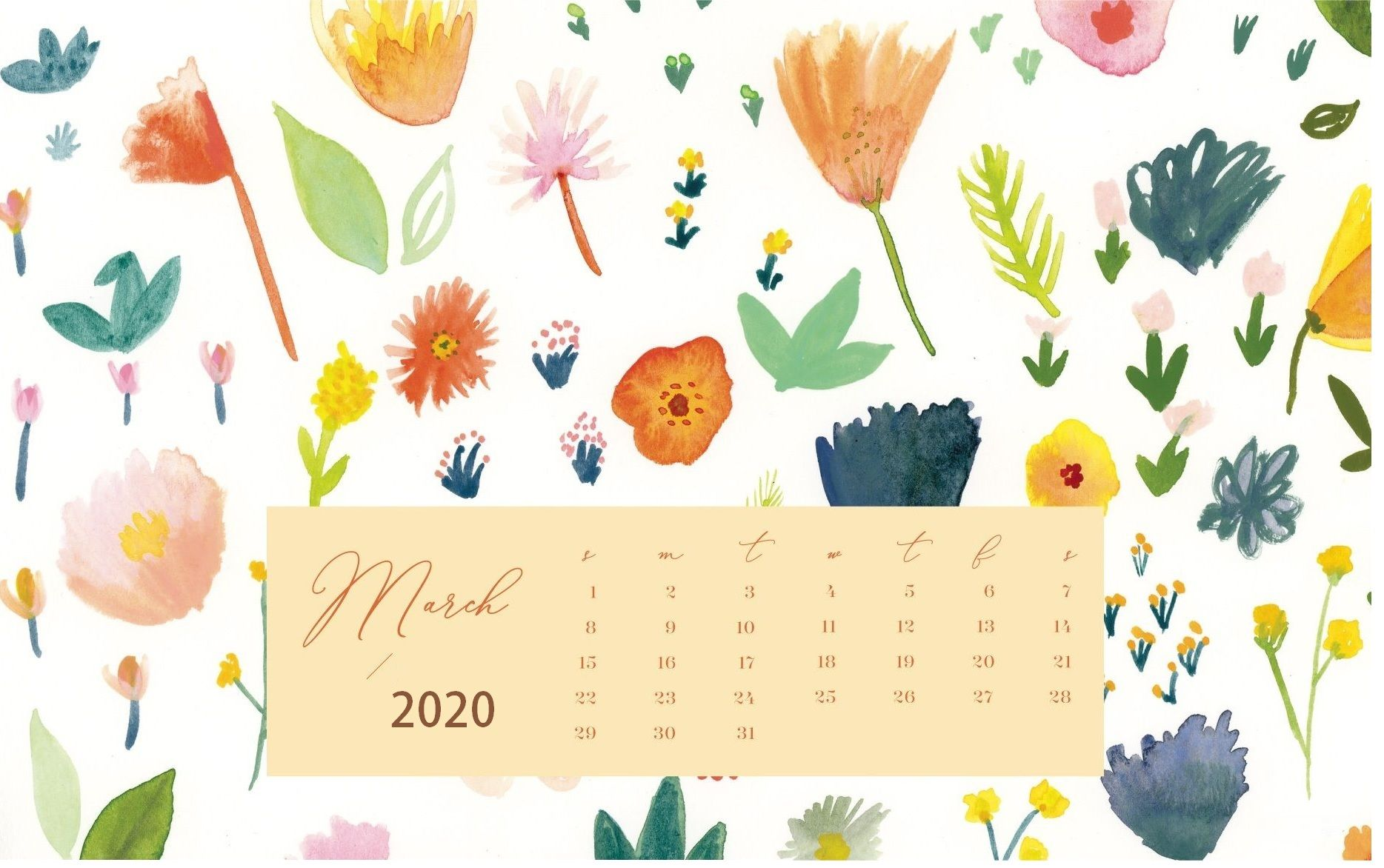 March 2020 Calendar Wallpapers Top Free March 2020 Calendar