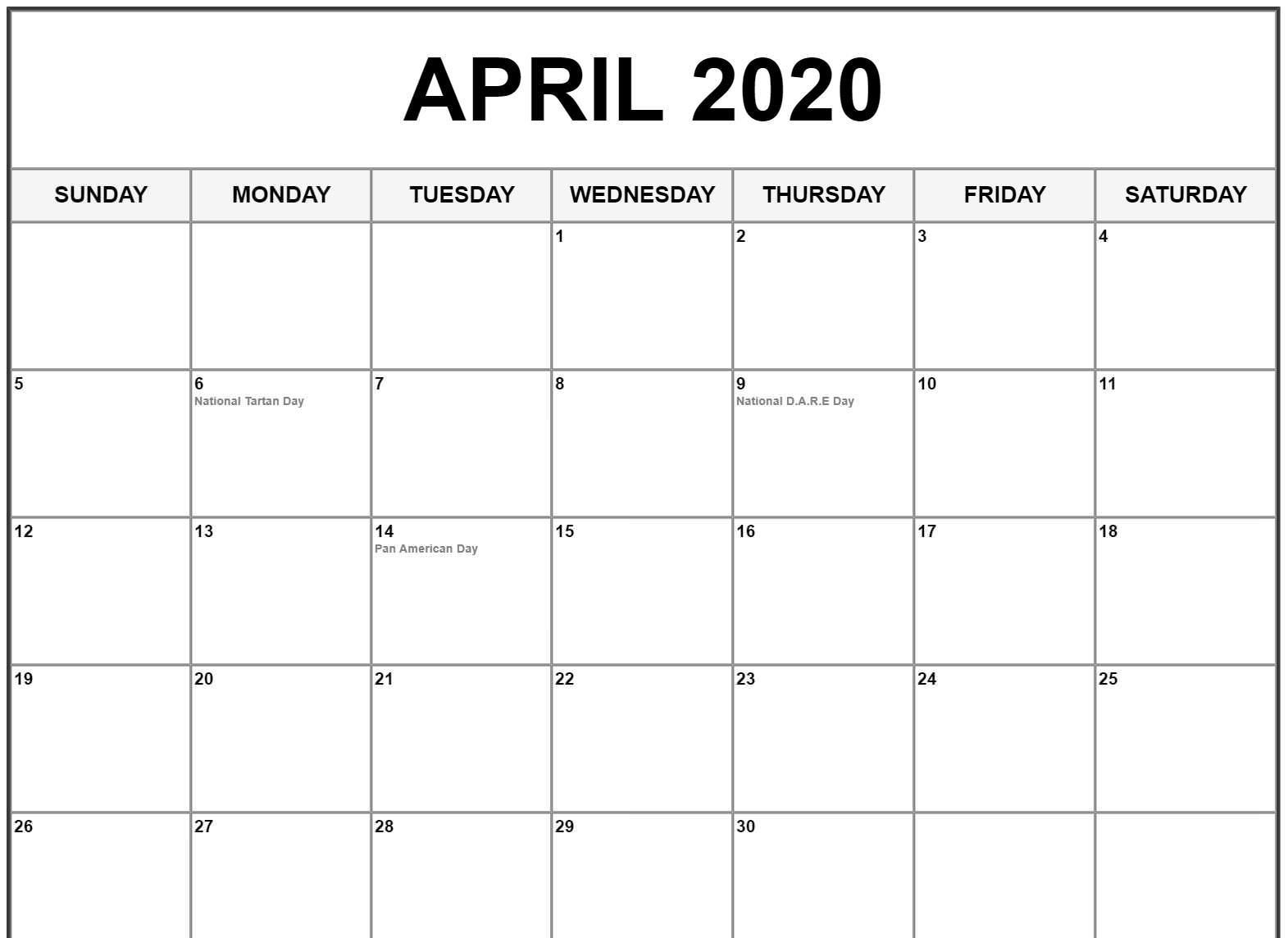 Holidays In April 2020 Venture Inspire