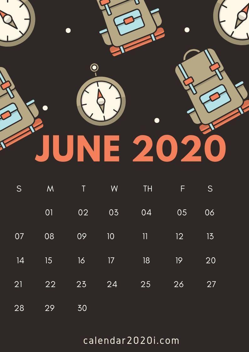 June 2020 Calendar Wallpapers Top Free June 2020 Calendar