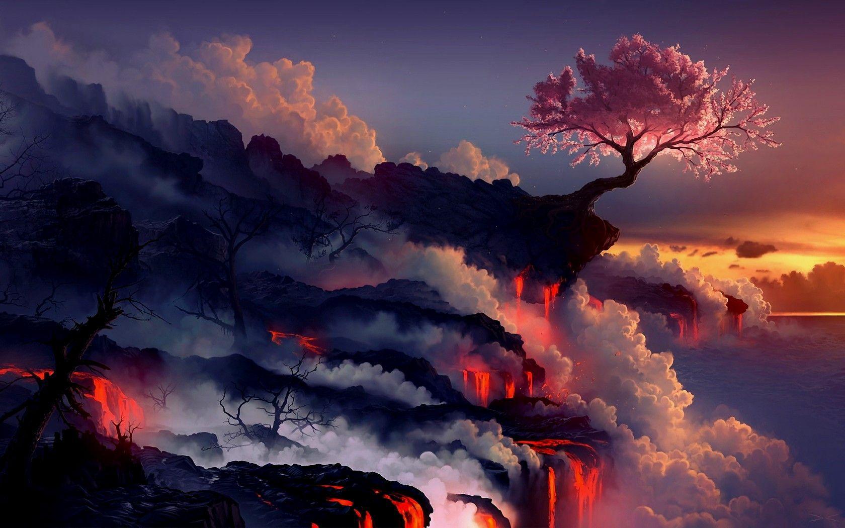 Digital Landscape Wallpapers   Top Free Digital Landscape ...
