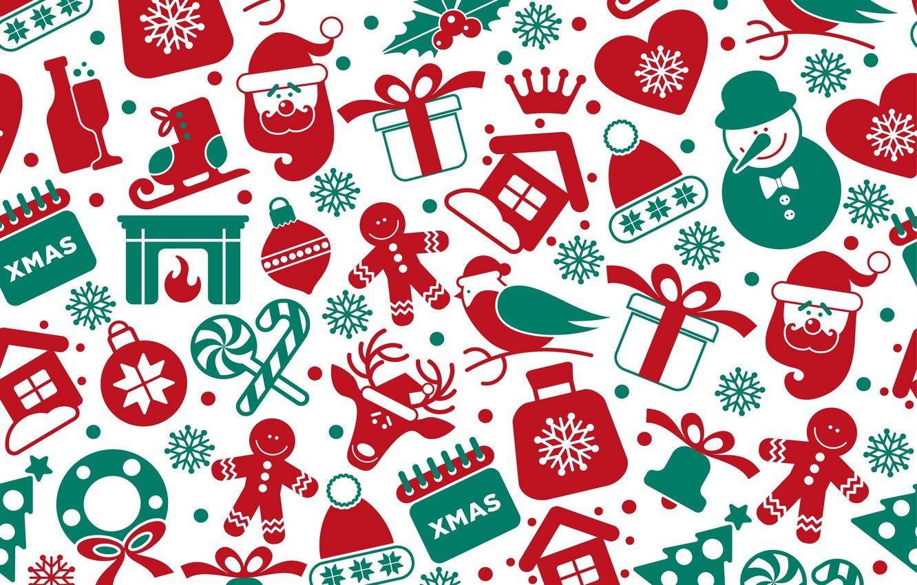 Christmas Pattern Wallpapers Top Free Christmas Pattern Backgrounds Wallpaperaccess