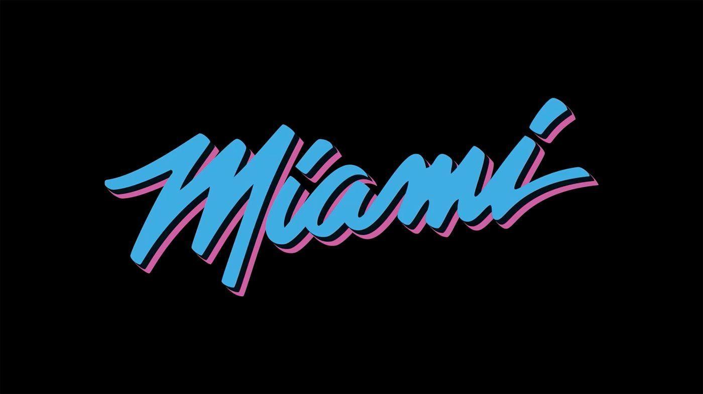 Miami vice font