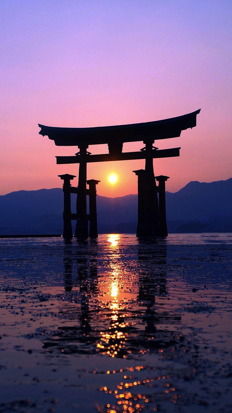 Japan Sunset Wallpapers Top Free Japan Sunset Backgrounds