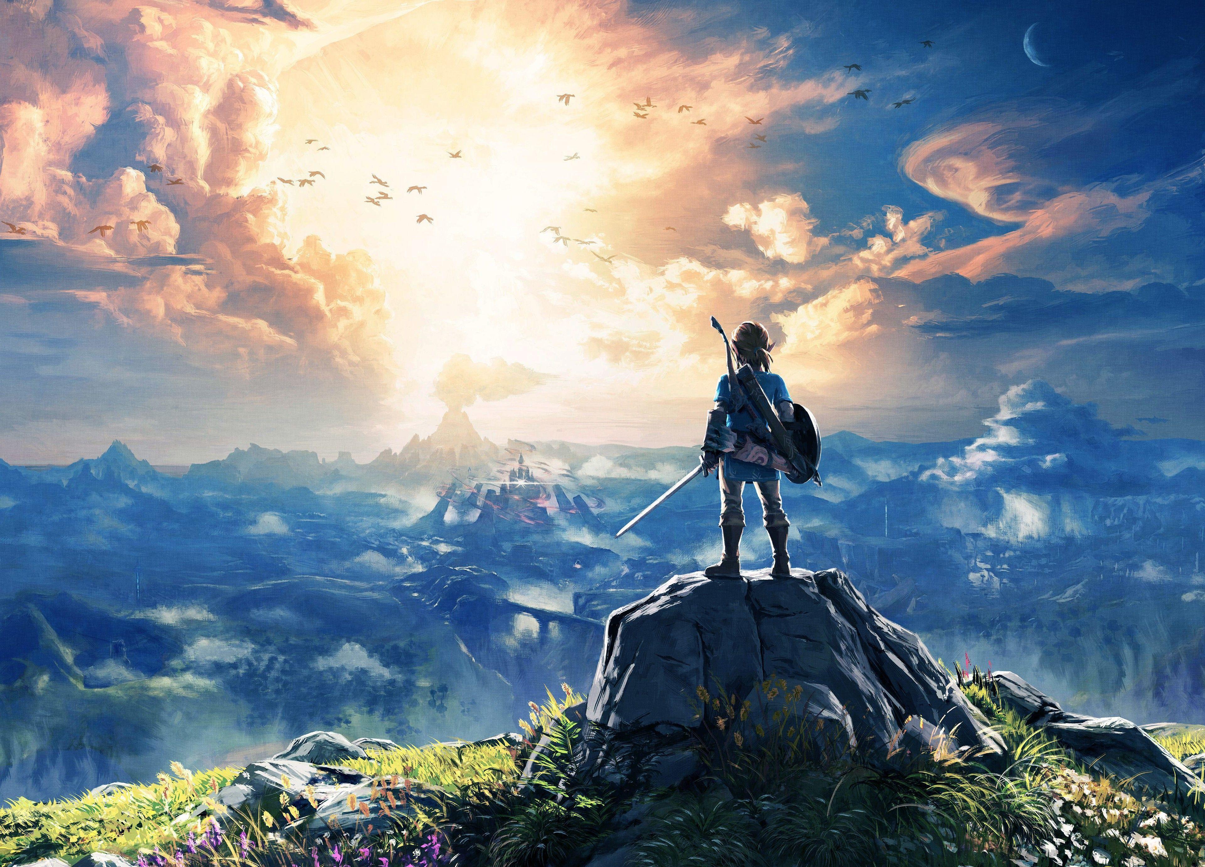 Zelda Botw Wallpapers Top Free Zelda Botw Backgrounds