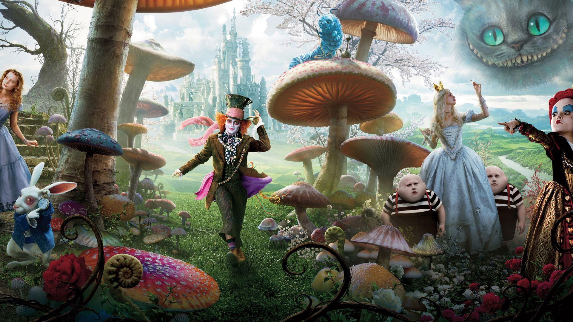 Alice In Wonderland Trippy Wallpapers Top Free Alice In Wonderland