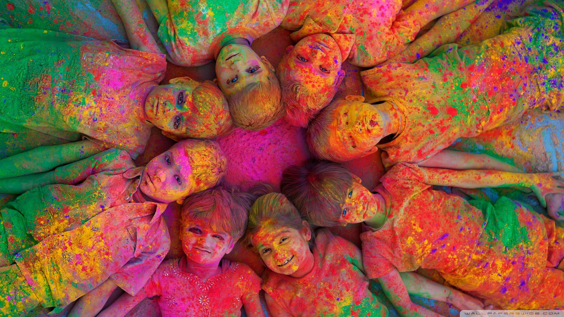 India Holi Wallpapers Top Free India Holi Backgrounds Wallpaperaccess