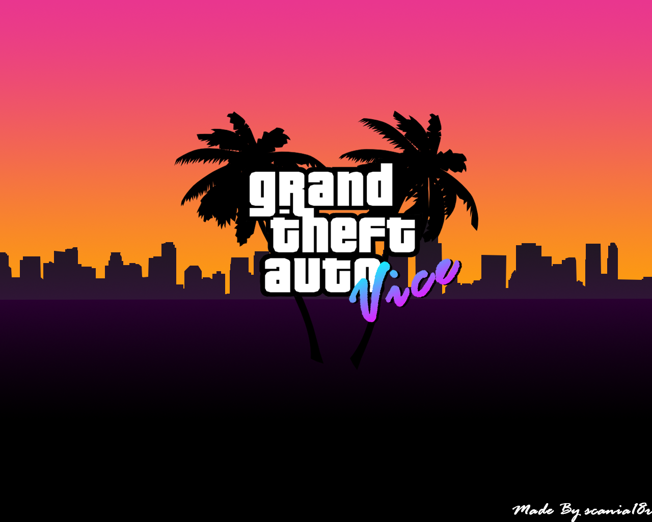 Grand Theft Auto Vice City Wallpapers Top Free Grand Theft Auto