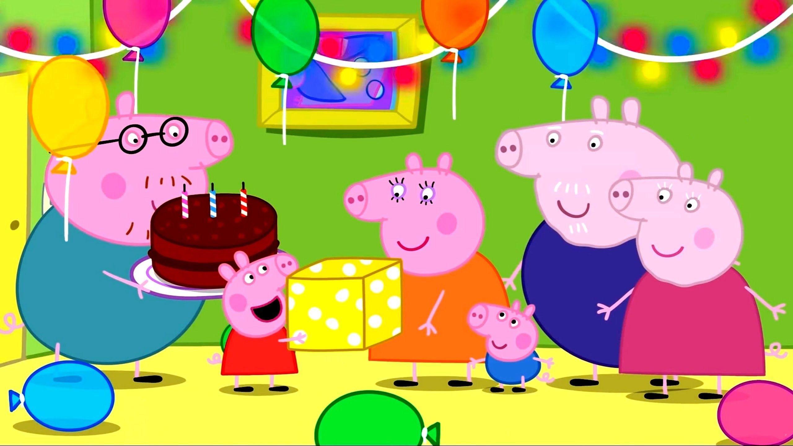 Peppa Pig Birthday Wallpapers - Top Free Peppa Pig ...