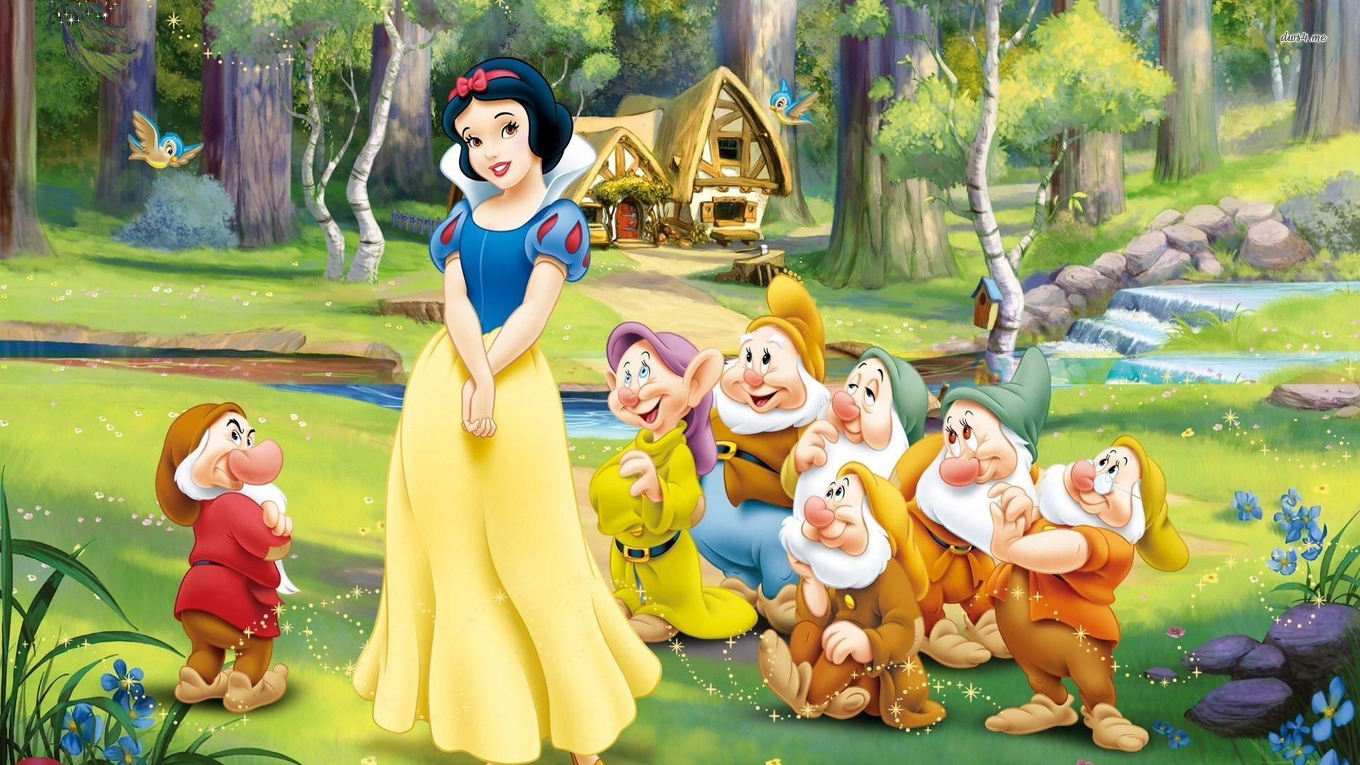 Snow White And The Seven Dwarfs Wallpapers Top Free Snow