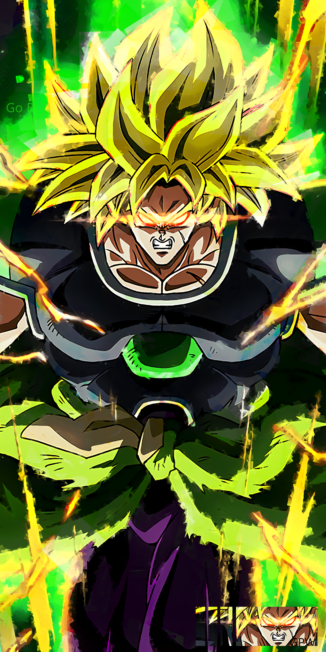 Dbs Broly Wallpapers Top Free Dbs Broly Backgrounds Wallpaperaccess