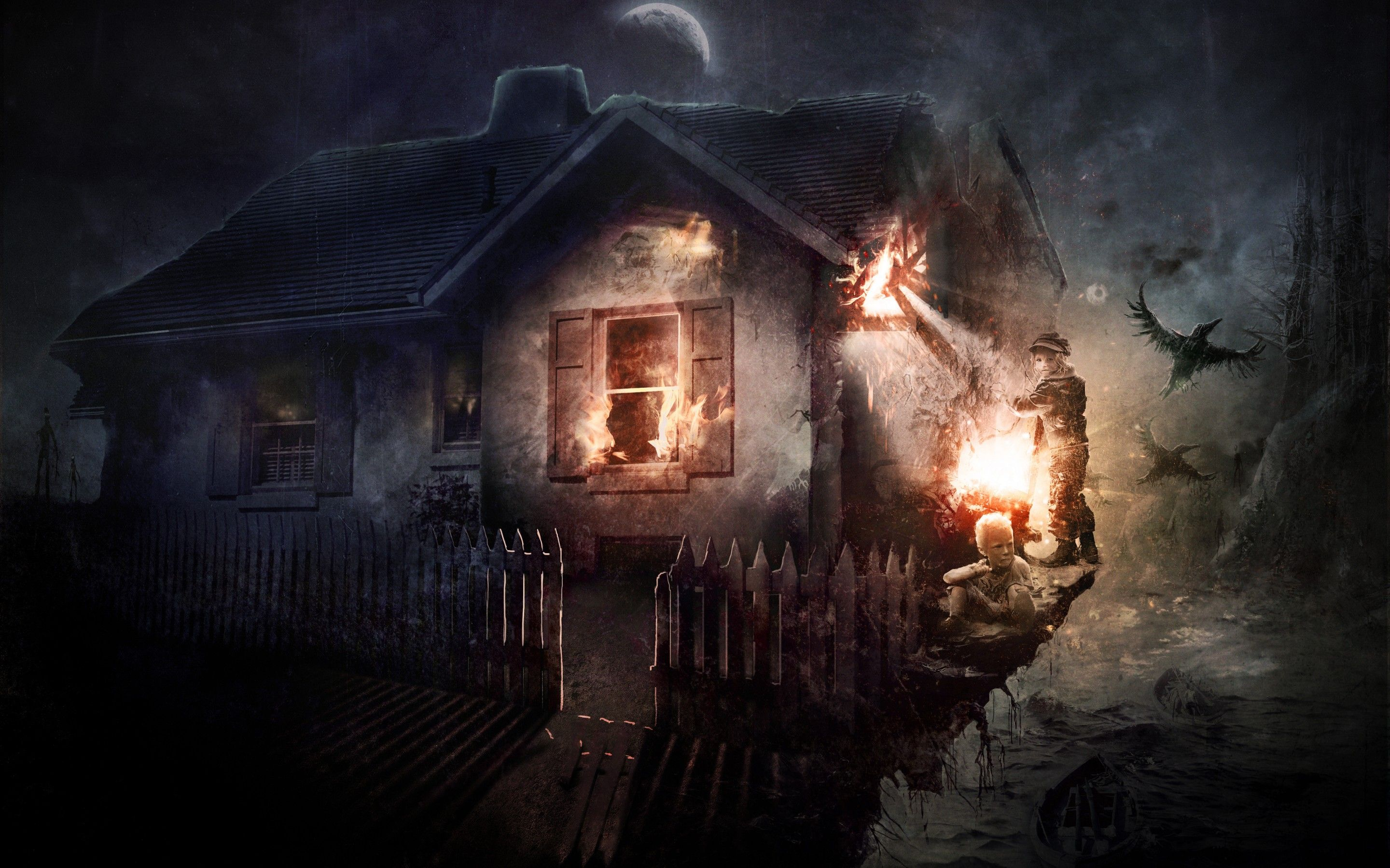 Horror Wallpapers Top Free Horror Backgrounds Wallpaperaccess