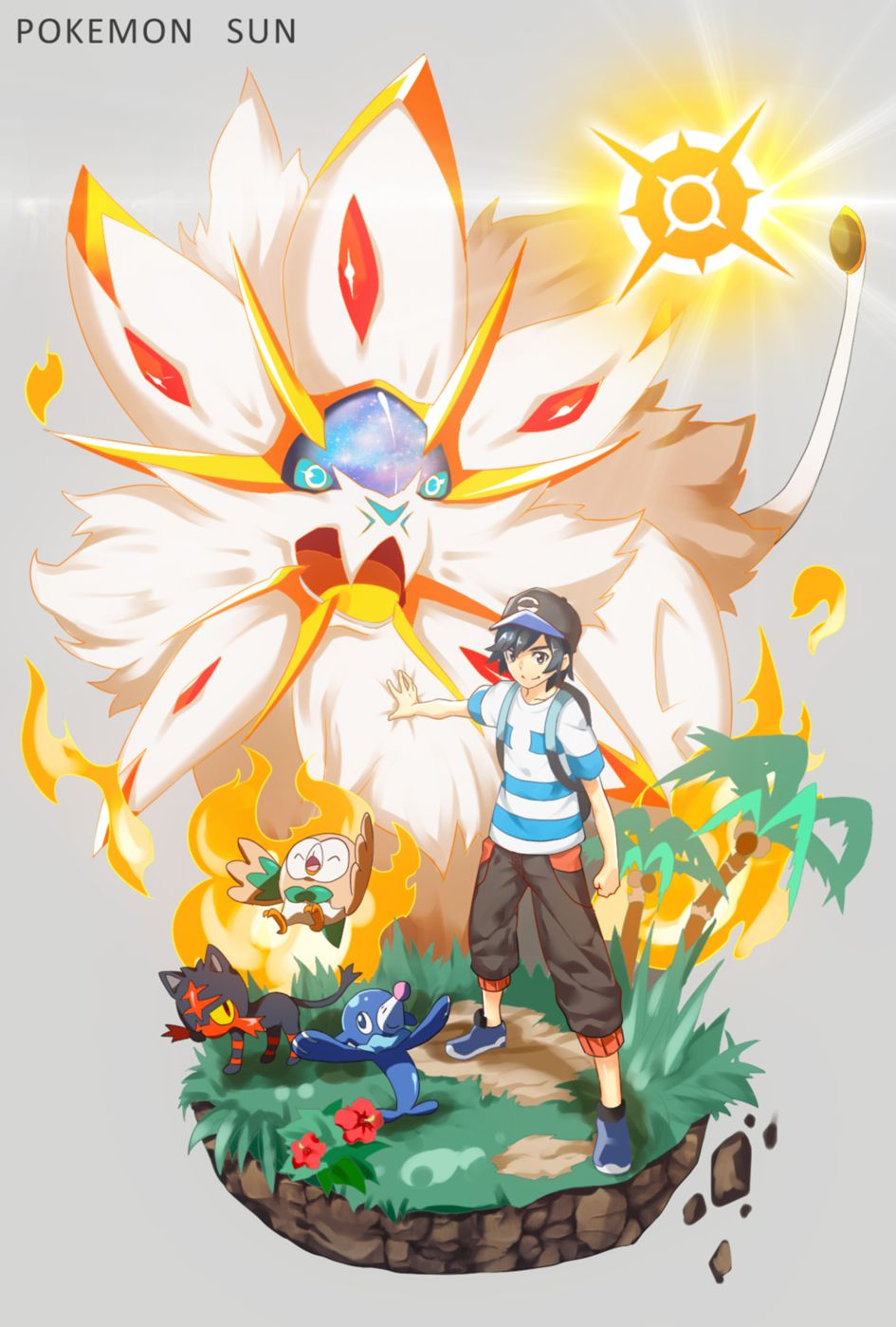 Pokemon Sun And Moon Mobile Wallpapers Top Free Pokemon Sun And
