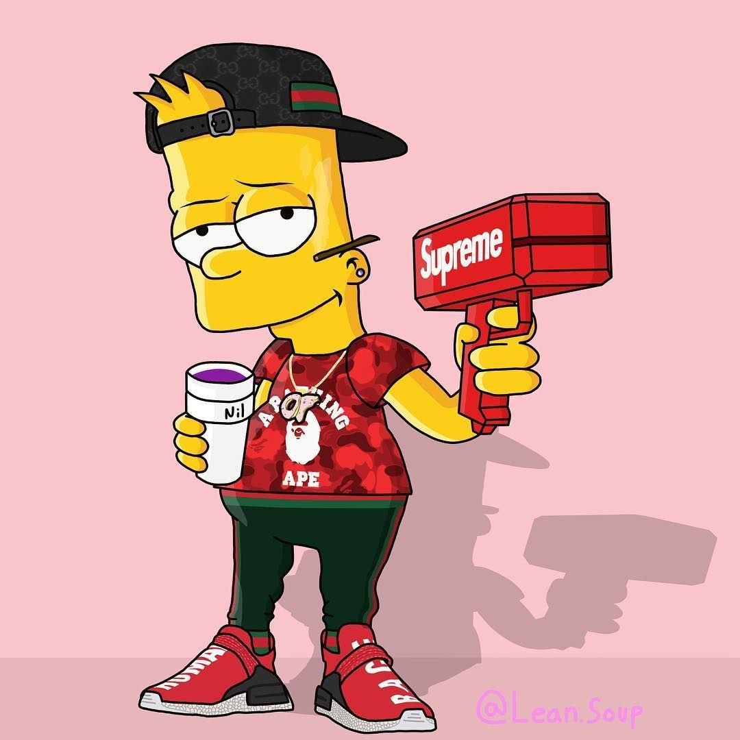 Bart Simpson Rapper Wallpapers Top Free Bart Simpson Rapper