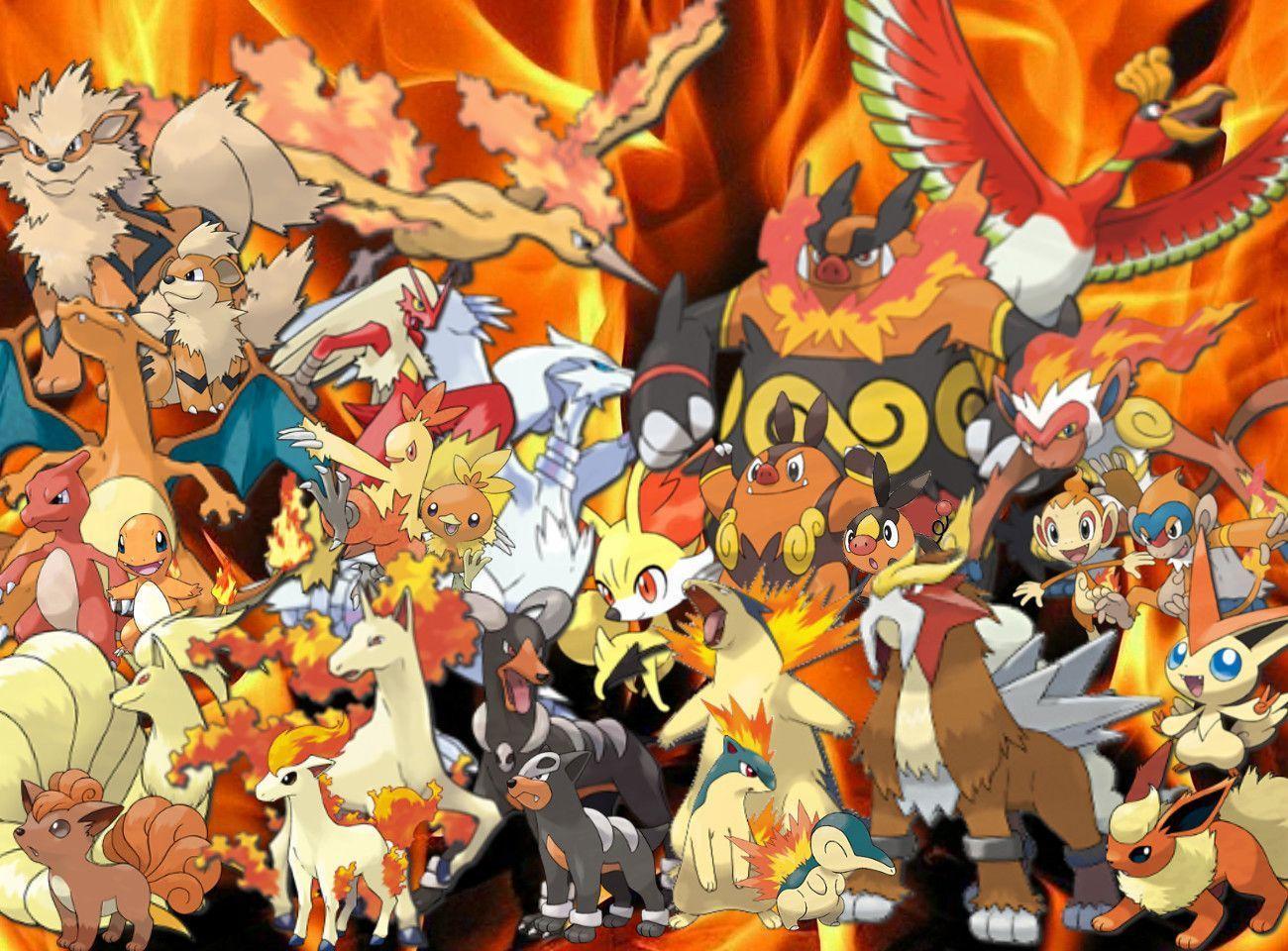 Fire Pokemon Wallpaper Hd