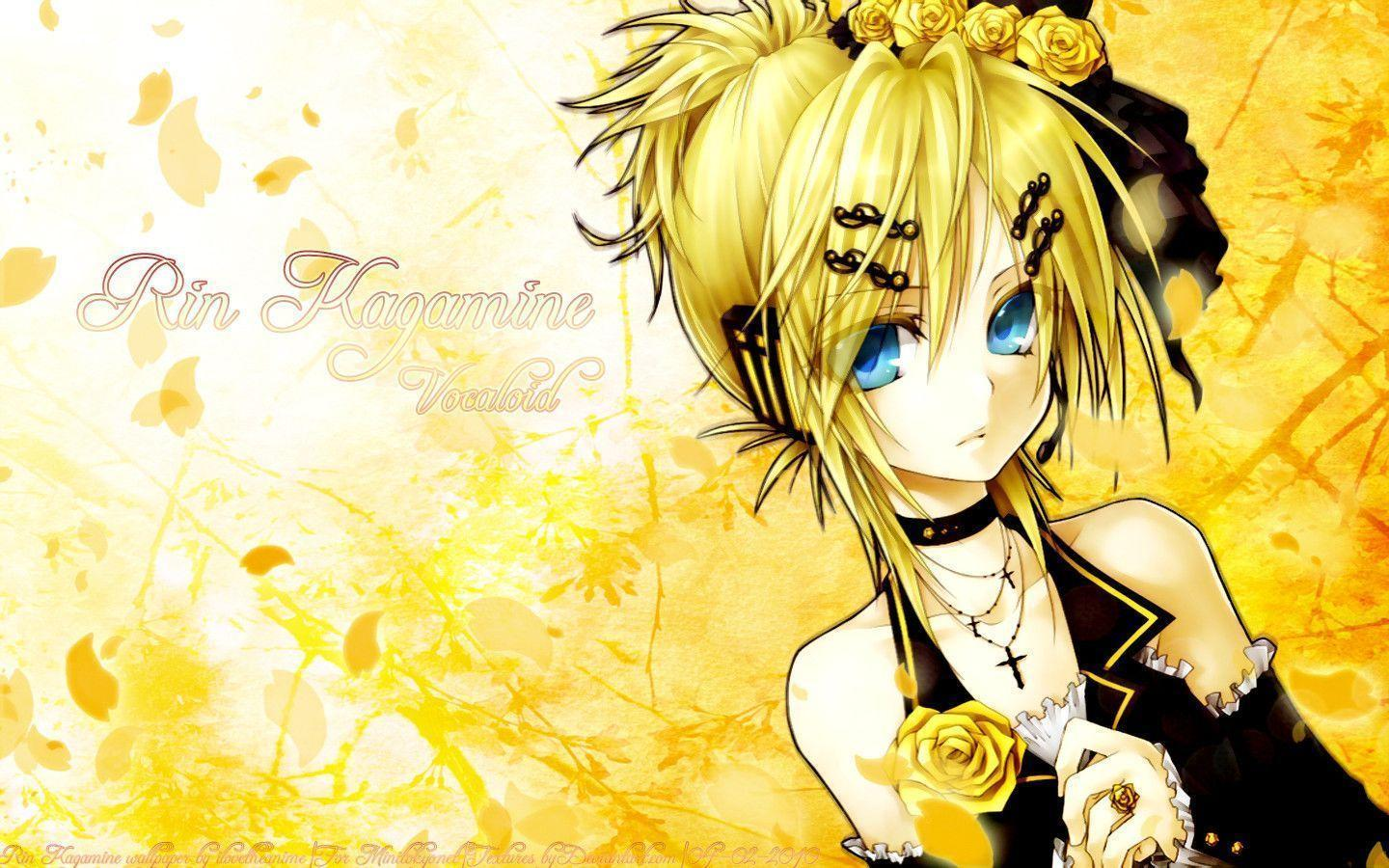 Kagamine Rin Wallpapers Top Free Kagamine Rin Backgrounds