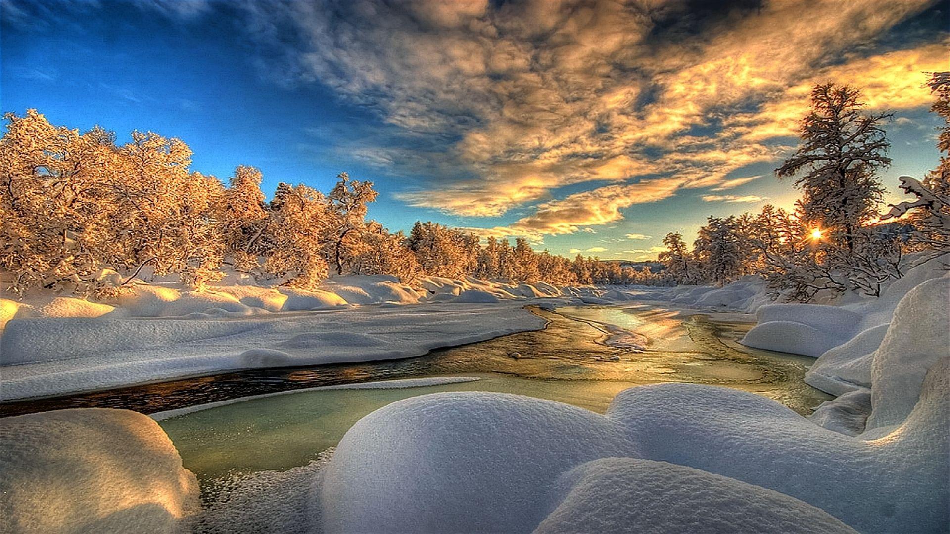 изумительные зимние картинки сайте