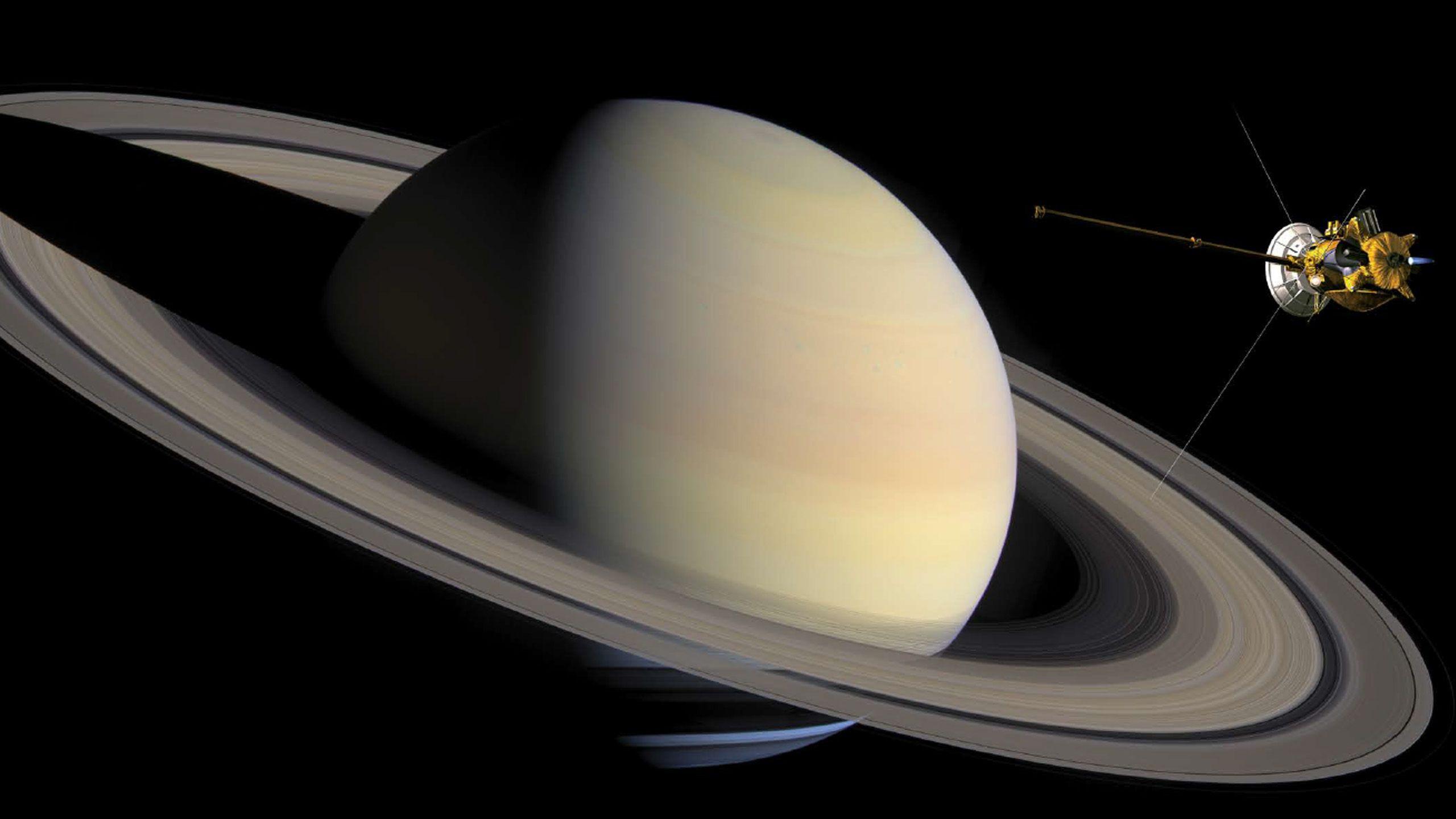 кассини гюйгенс фото сатурна звезды умеют
