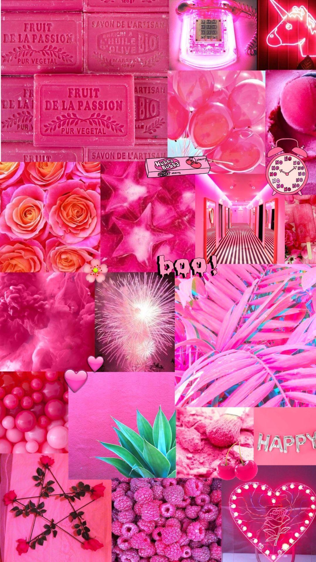 Aesthetic Dark Pink Wallpapers Top Free Aesthetic Dark Pink Backgrounds Wallpaperaccess