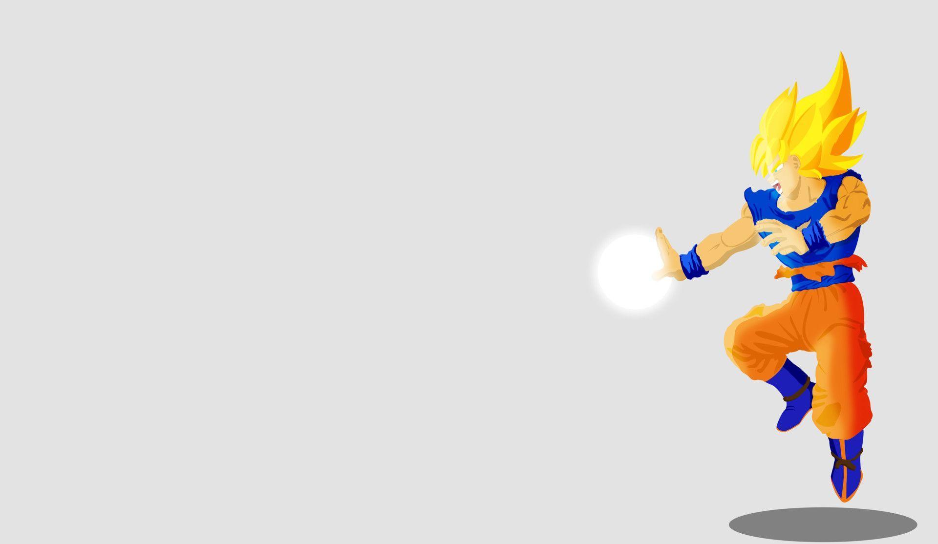 Minimalist Dragon Ball Z Wallpapers Top Free Minimalist Dragon