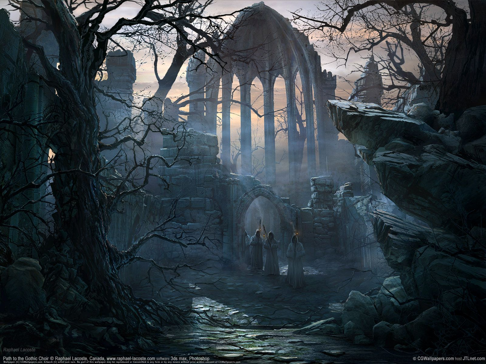 Gothic Computer Wallpapers Top Free Gothic Computer