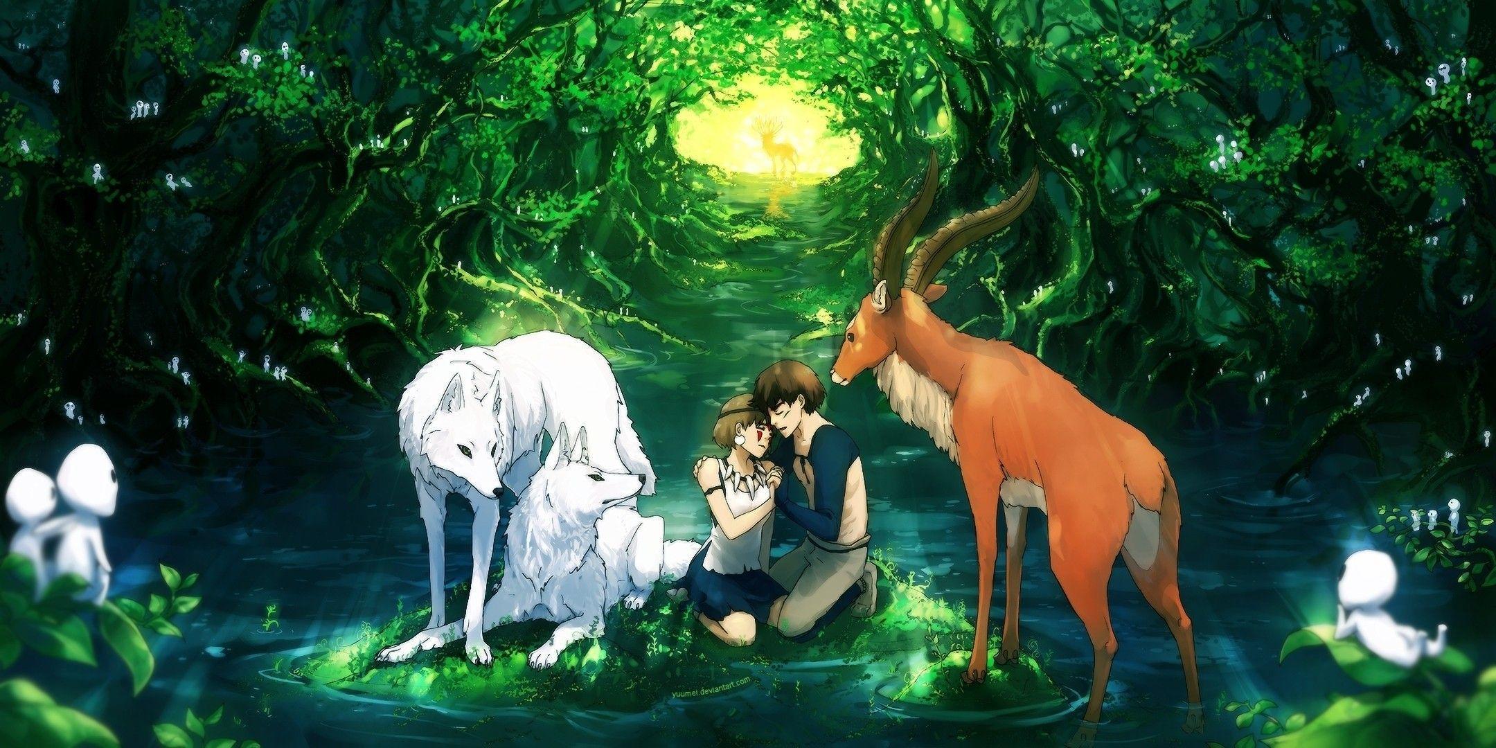 Princess Mononoke Studio Ghibli Wallpapers Top Free Princess Mononoke Studio Ghibli Backgrounds Wallpaperaccess