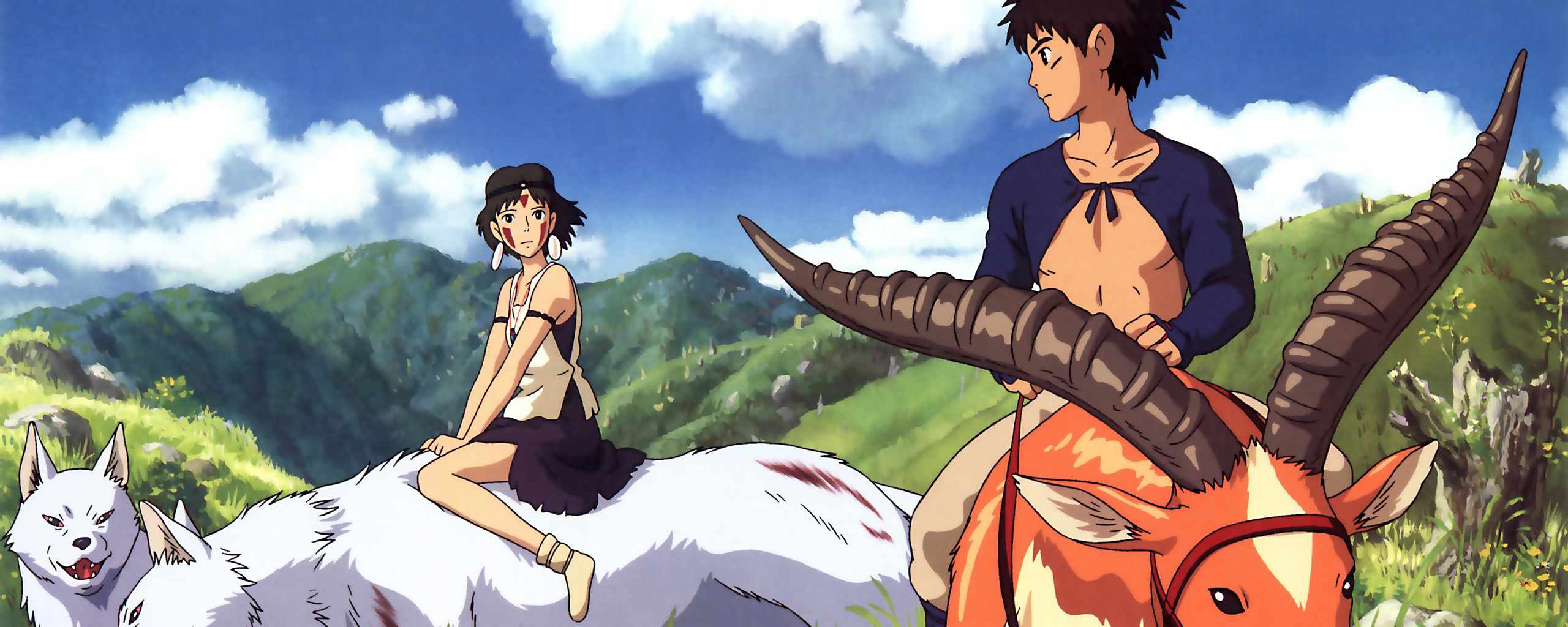 Princess Mononoke Studio Ghibli Wallpapers Top Free Princess Mononoke Studio Ghibli Backgrounds Wallpaperaccess