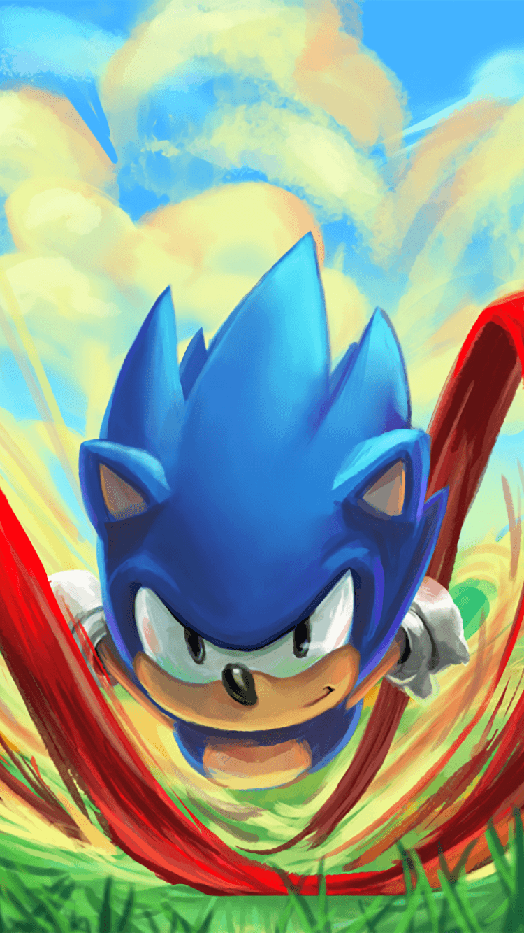Sonic The Hedgehog Iphone Wallpapers Top Free Sonic The Hedgehog