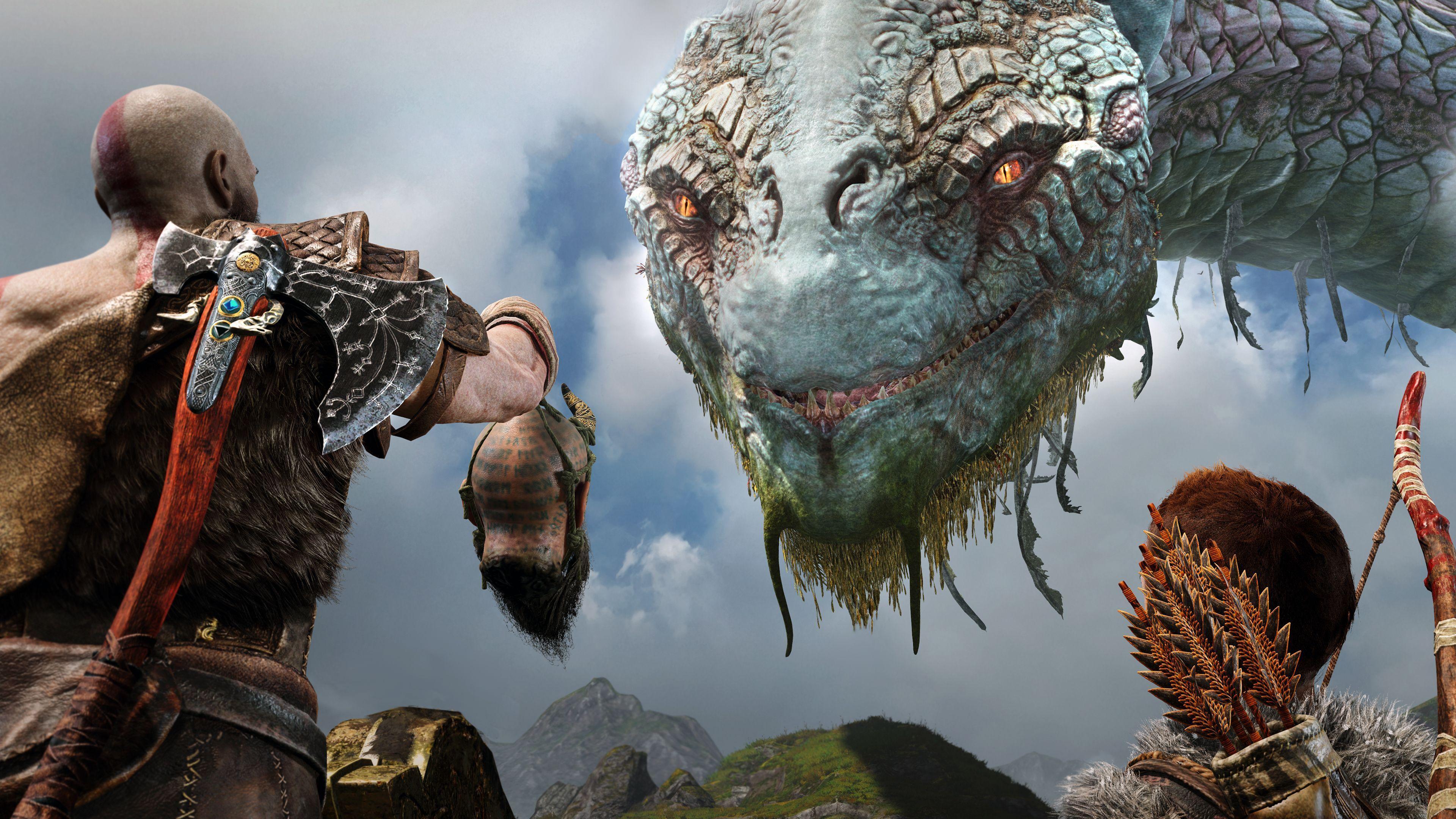 God Of War 4k Wallpapers Top Free God Of War 4k