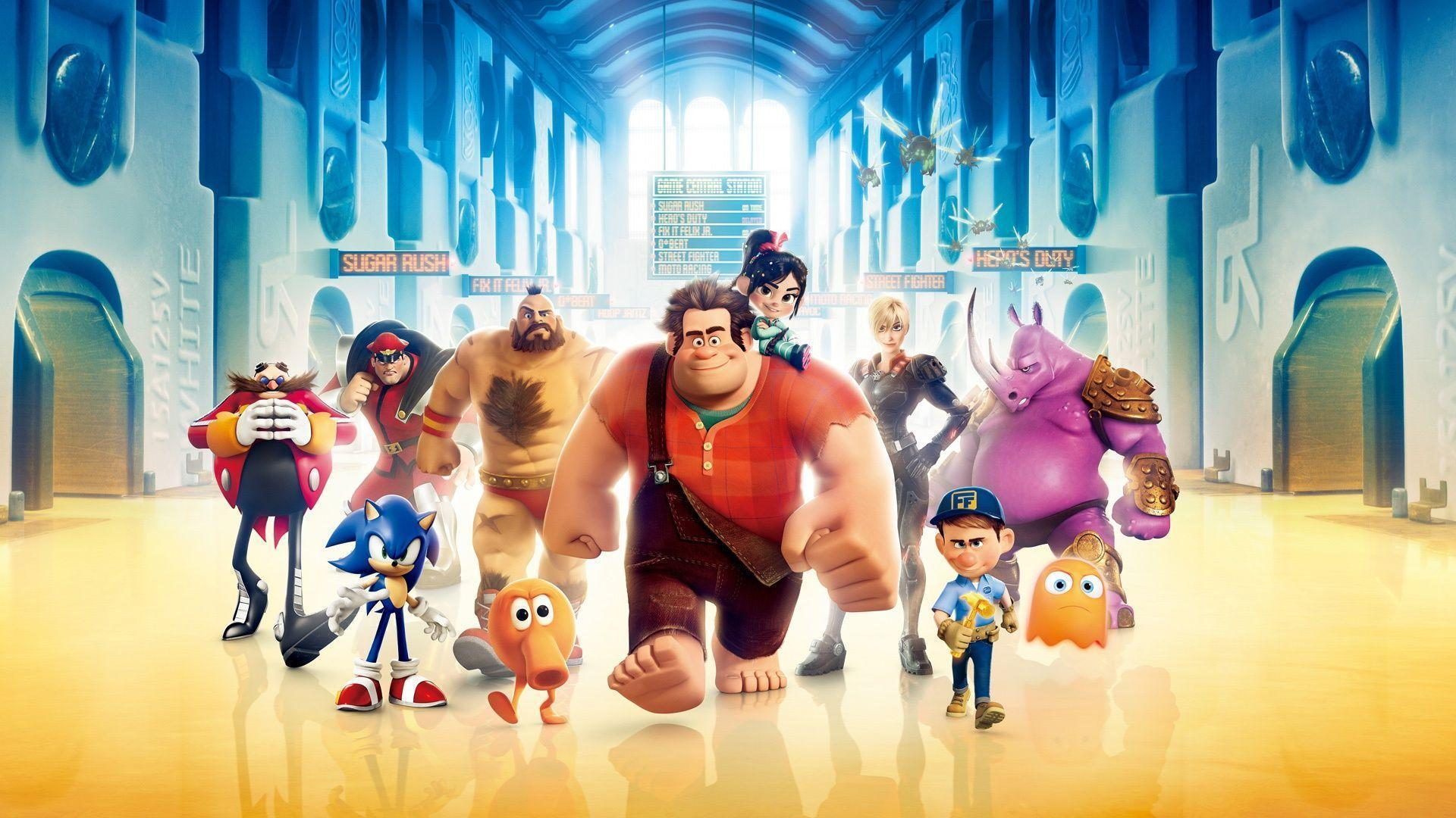 Wreck It Ralph Wallpapers Top Free Wreck It Ralph Backgrounds