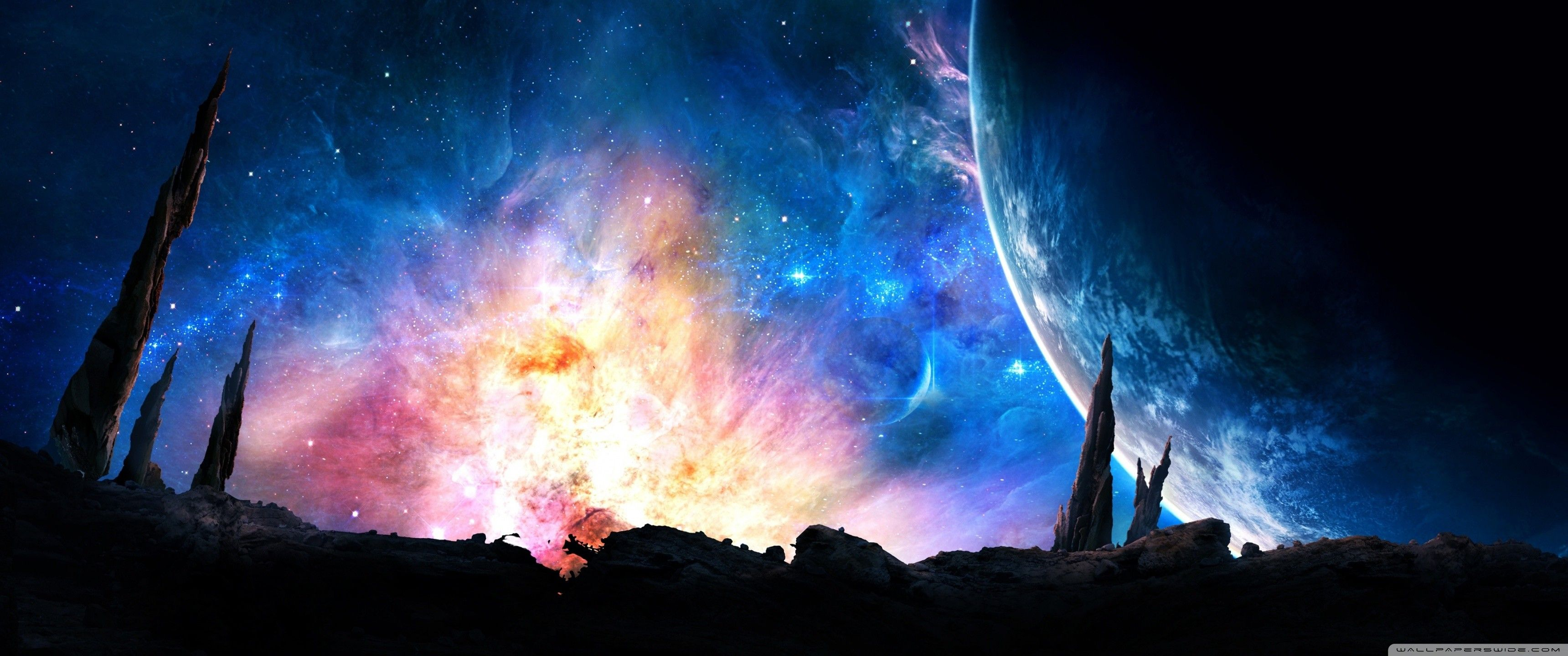 3440X1440 Space Wallpapers - Top Free