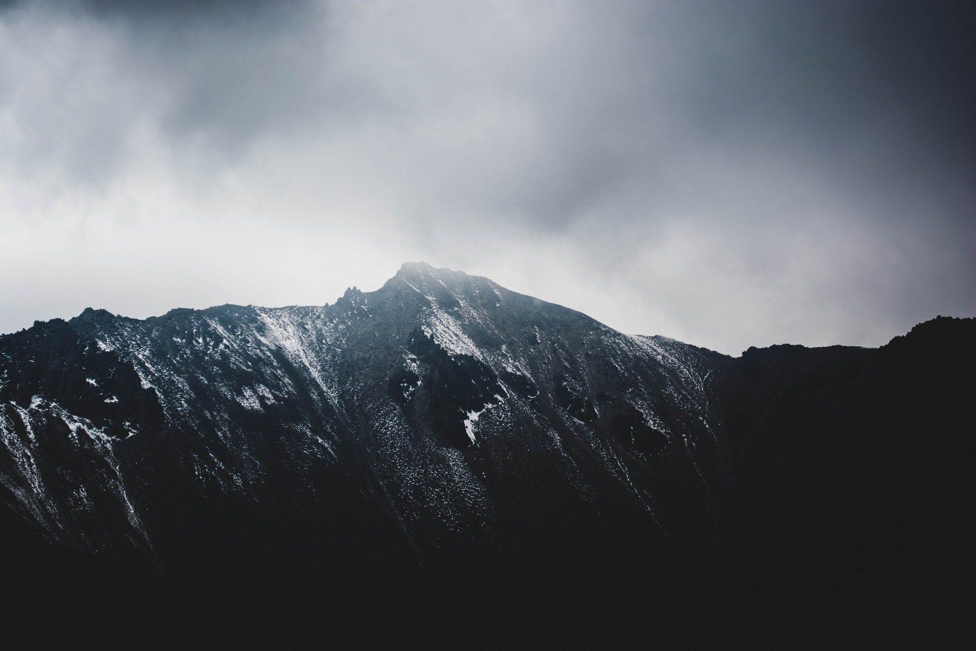 Dark Mountain Wallpapers Top Free Dark Mountain Backgrounds