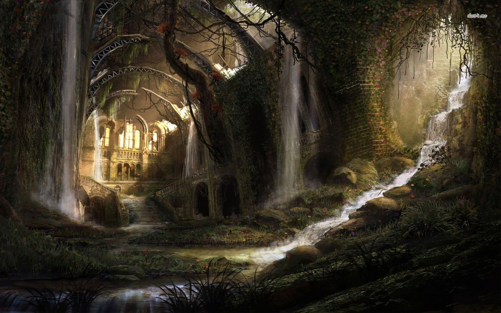 1920x1080 Fantasy Castle ...
