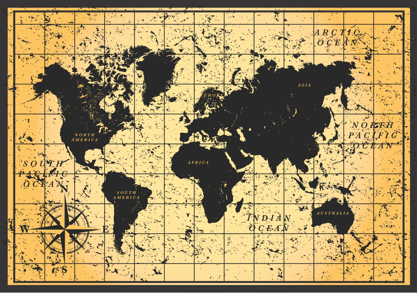 Vintage Map Wallpapers - Top Free Vintage Map Backgrounds ...