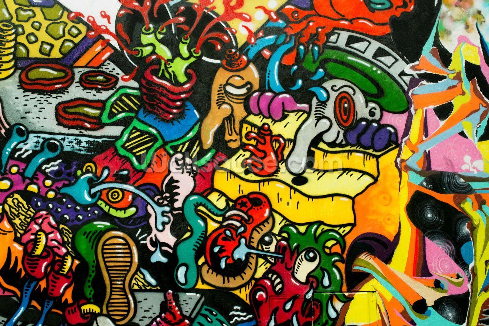 Cool Graffiti Wallpapers - Top Free Cool Graffiti Backgrounds - WallpaperAccess