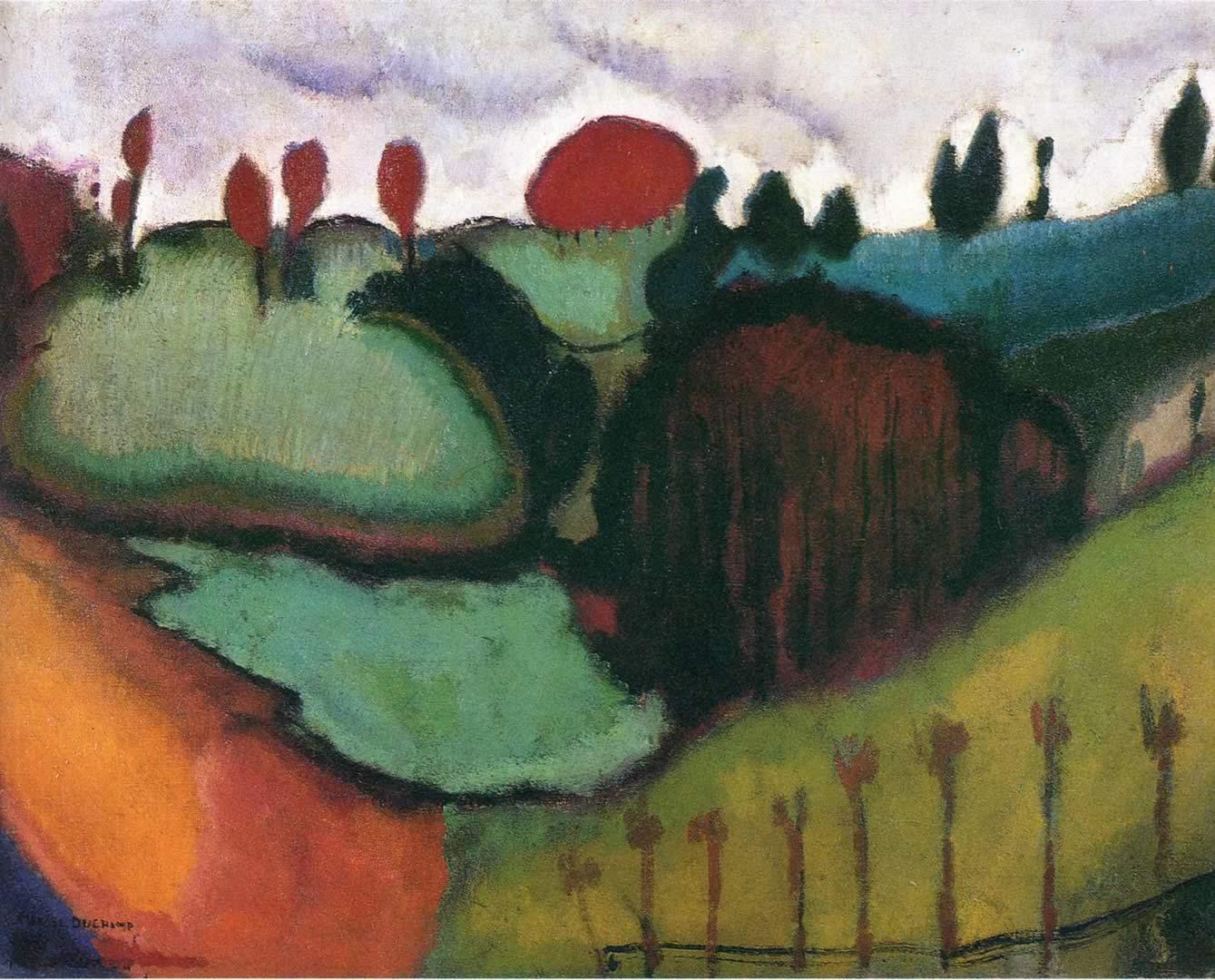 1339x1080 Phong cảnh - Hình nền Marcel Duchamp
