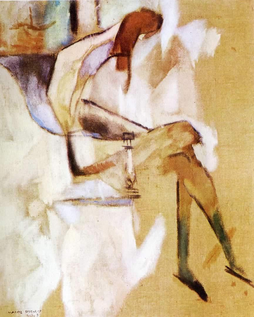 865x1080 Nói về Em gái - Hình nền Marcel Duchamp