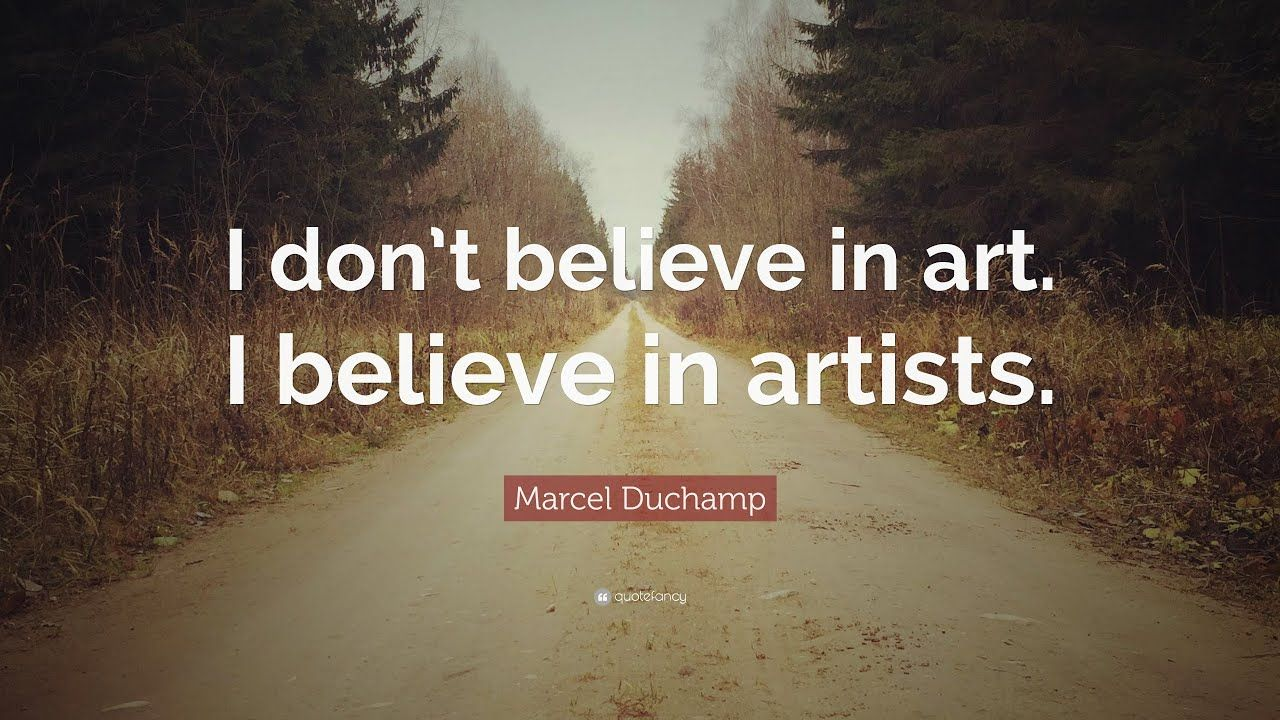 1280x720 TOP 20 Trích dẫn của Marcel Duchamp