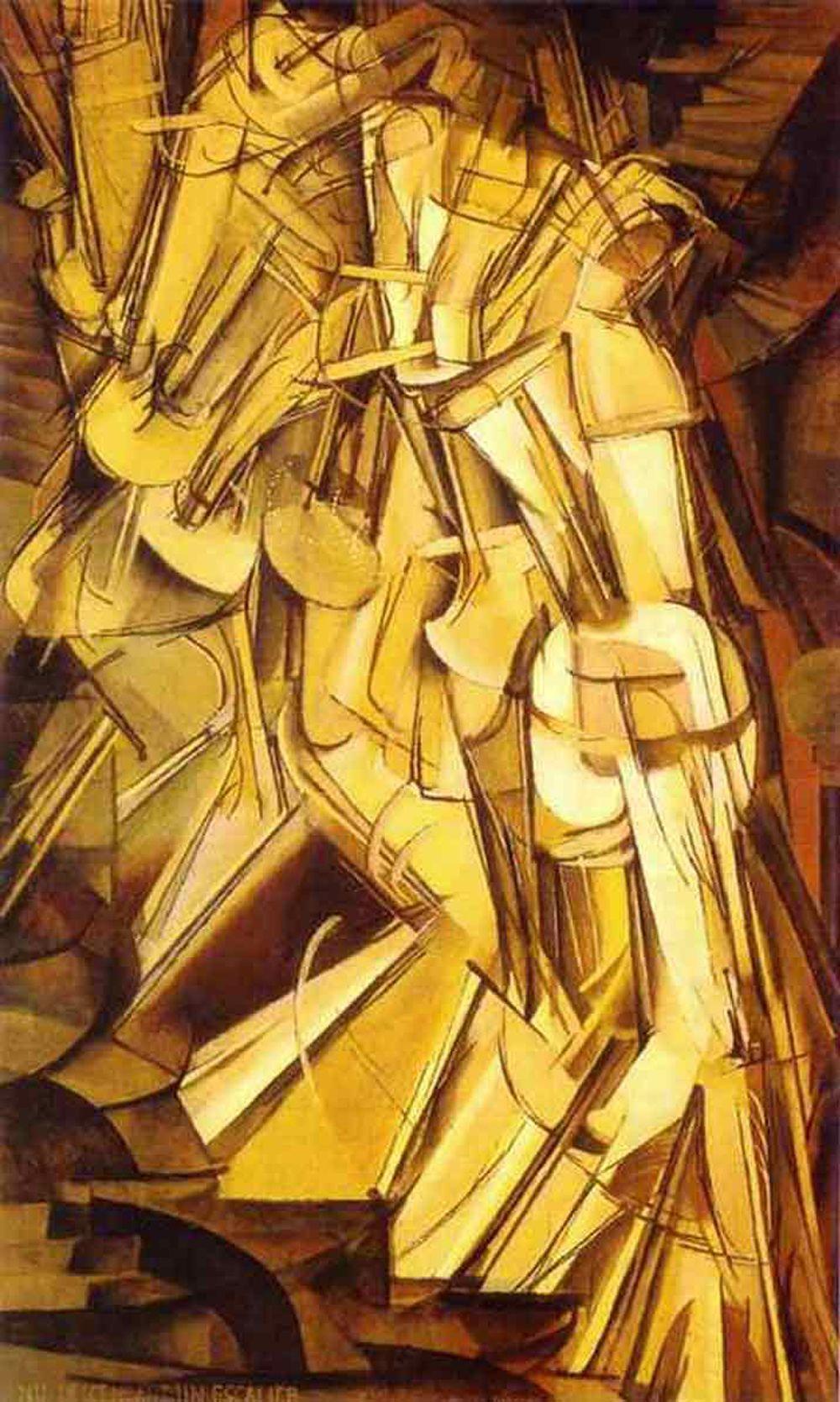1000x1669 bức tranh Duchamp