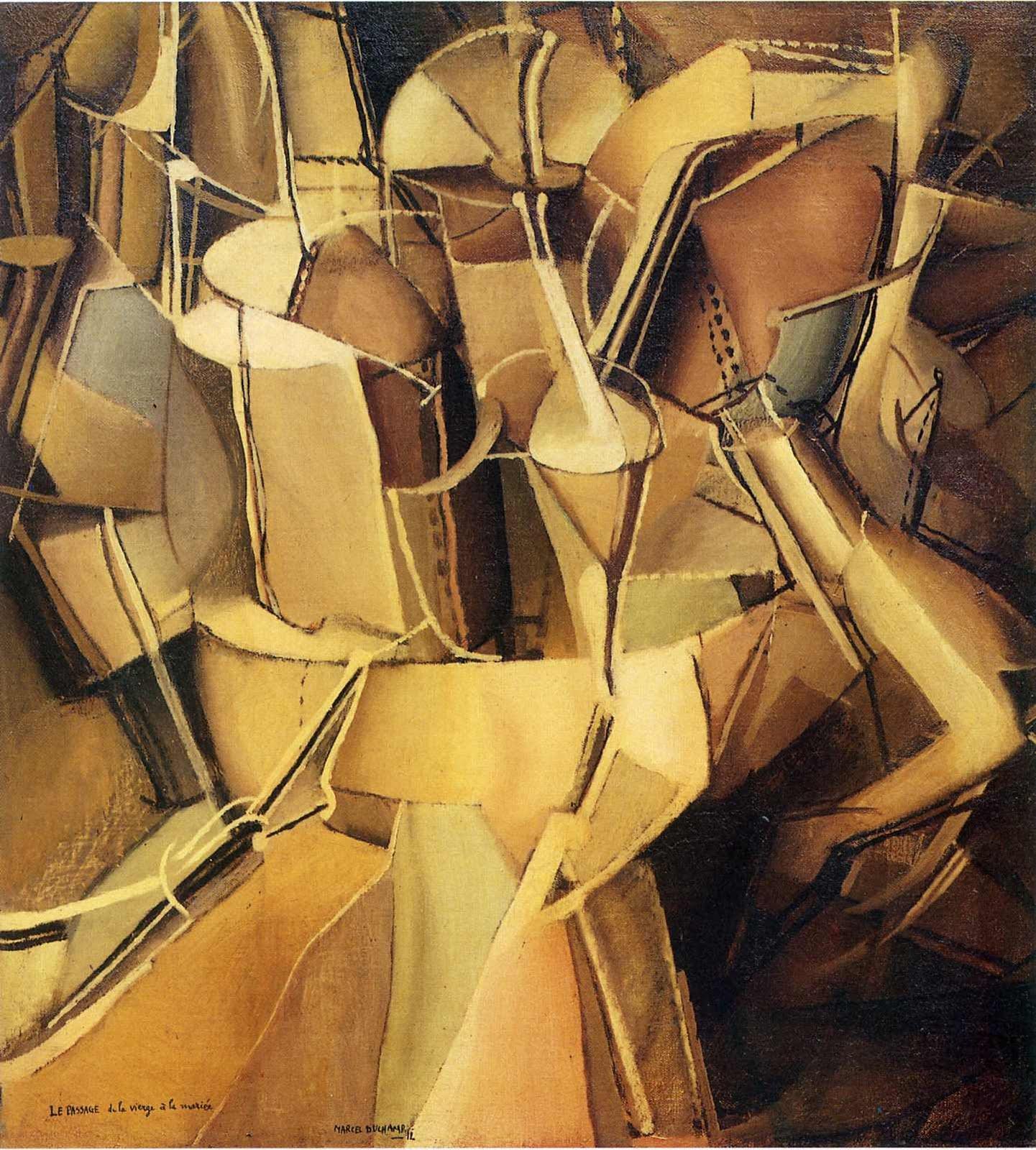 1441x1600 bức tranh Duchamp