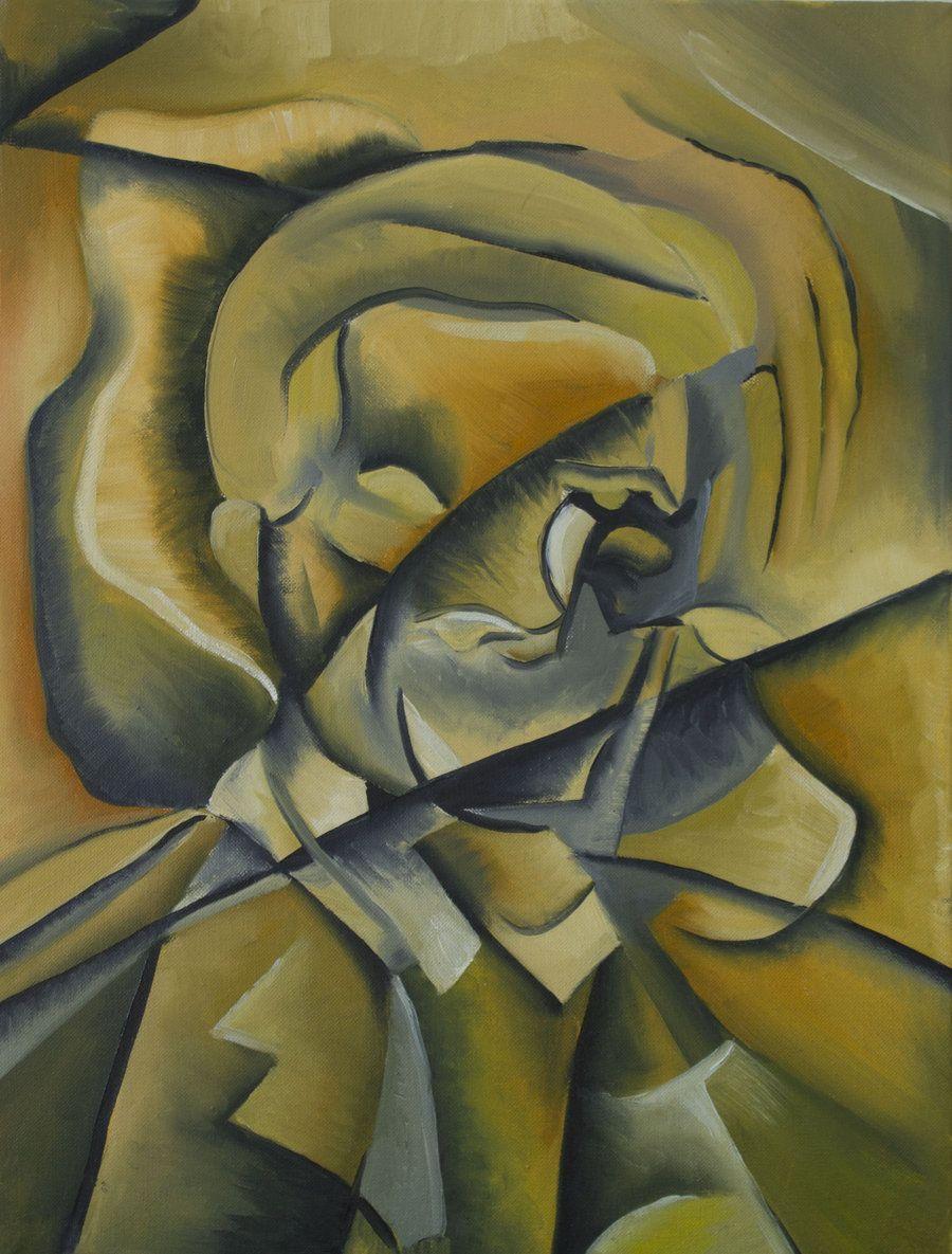 900x1185 bức tranh Duchamp
