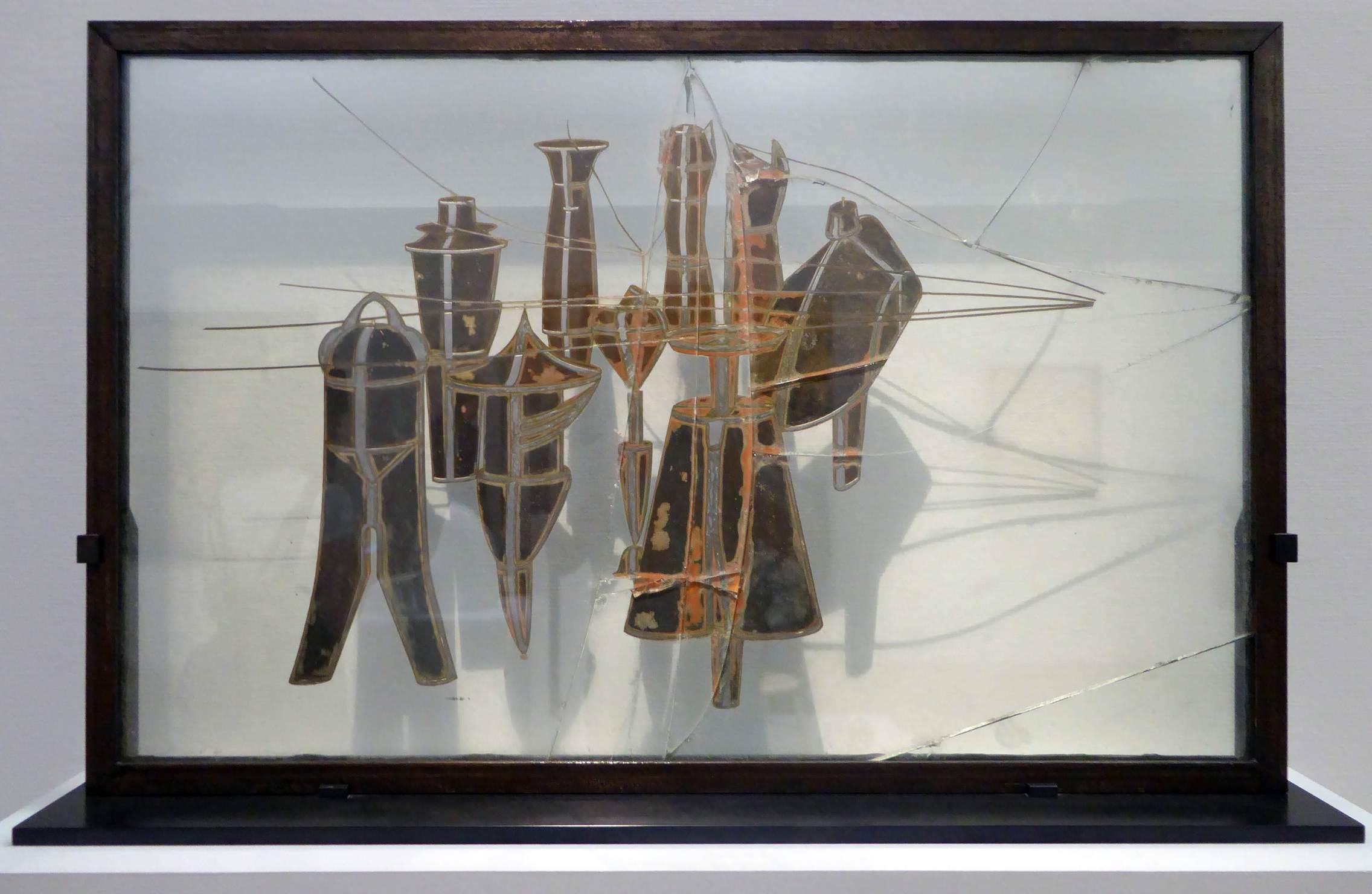 2272x1480 Marcel Duchamp - Chín Khuôn mẫu Malic.  Trung tâm Pompidu, Paris